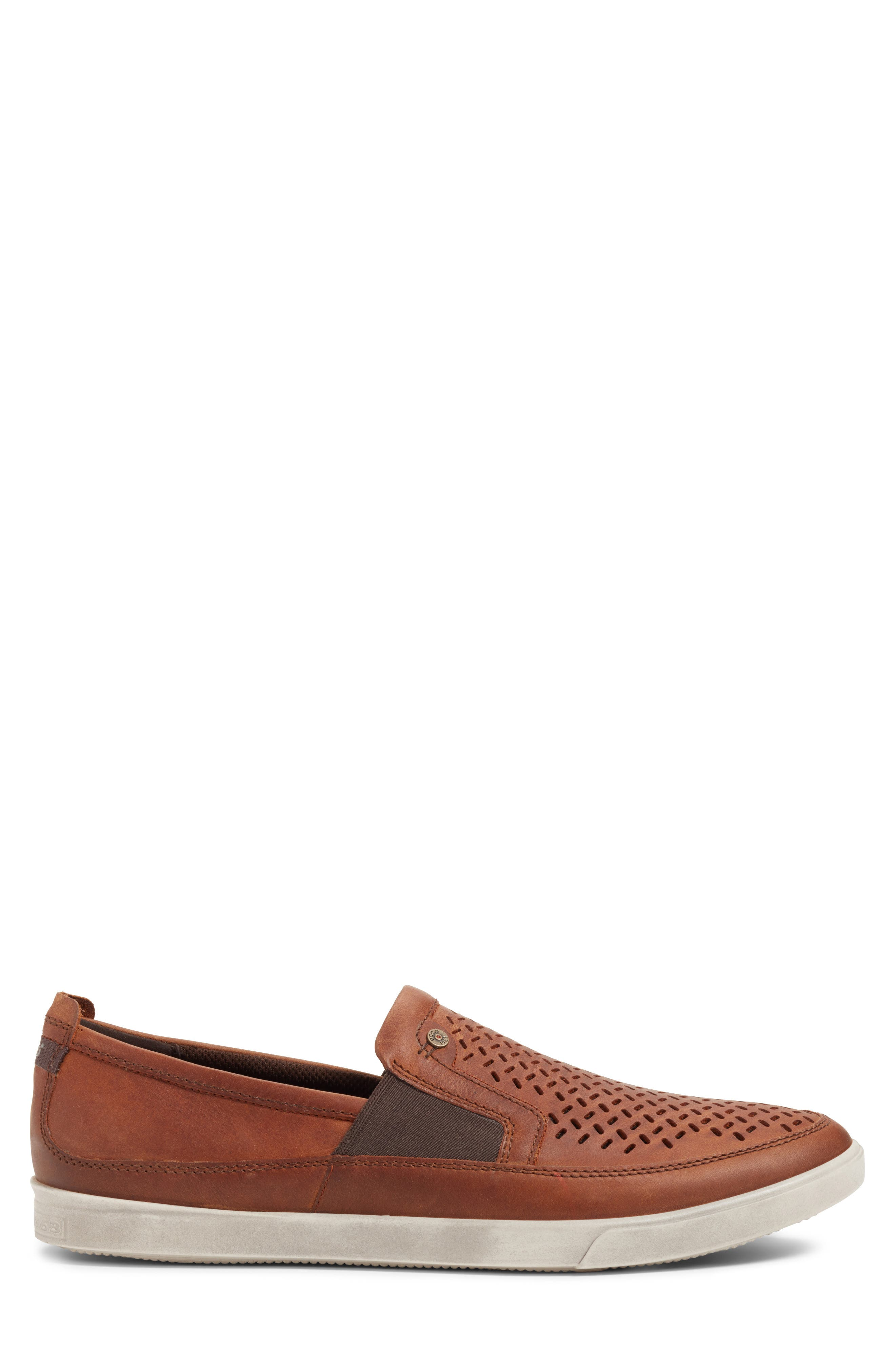 Alternate Image 3  - ECCO 'Collin' Perforated Slip On Sneaker (Men)