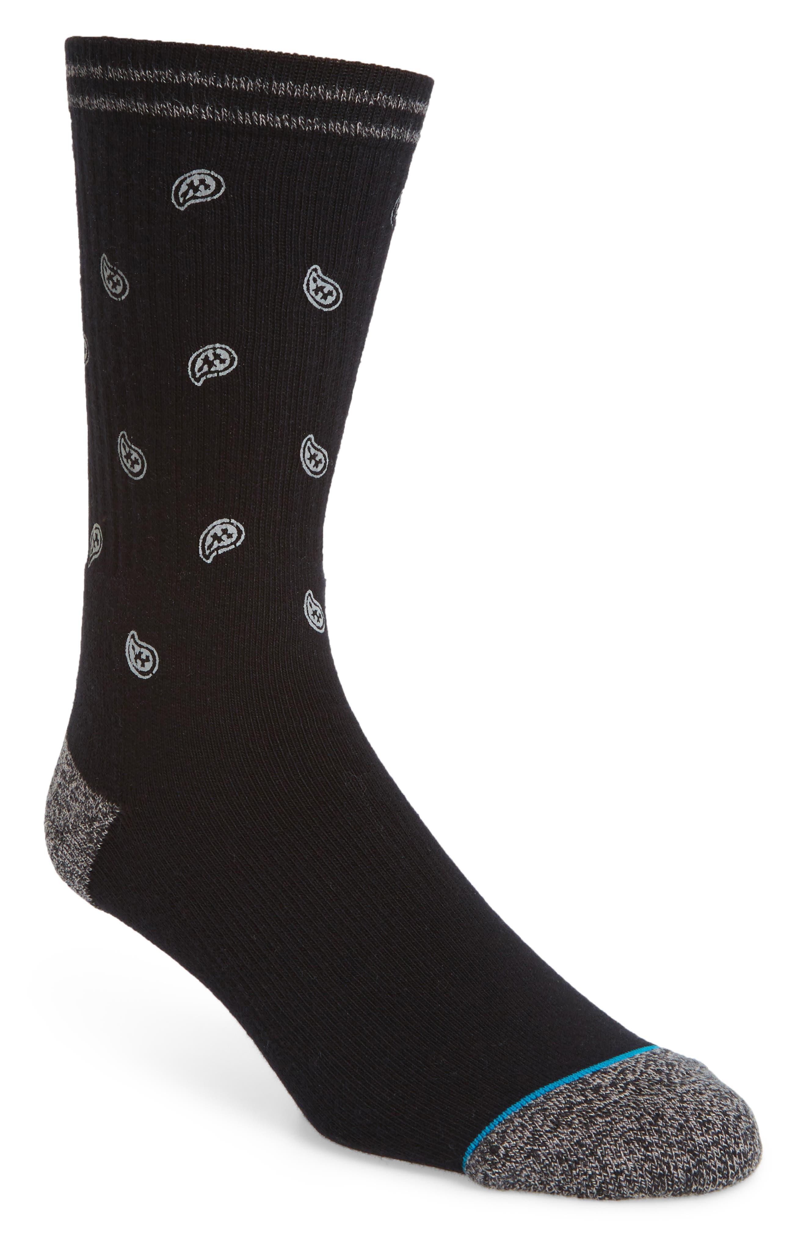 Emerge Socks,                             Main thumbnail 1, color,                             Black