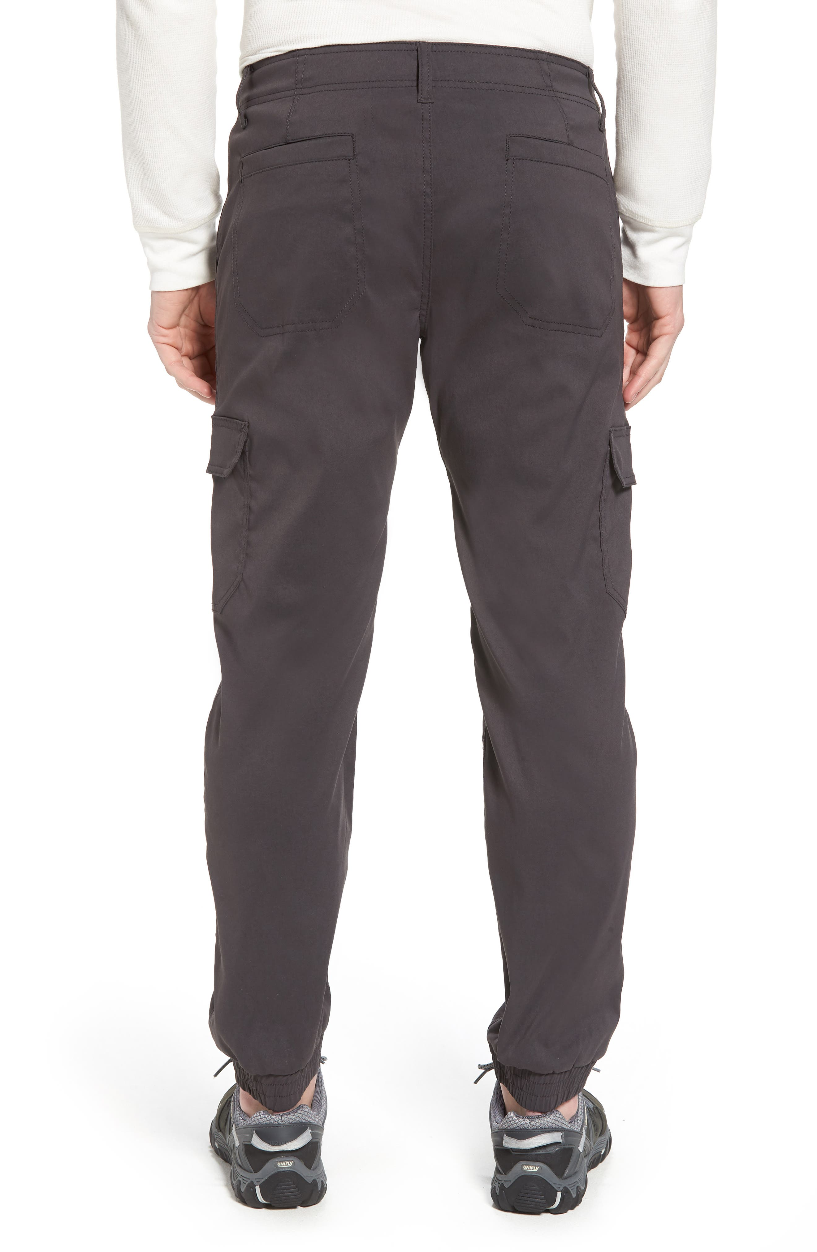 Zion Water Repellent Stretch Jogger Pants,                             Alternate thumbnail 2, color,                             Charcoal