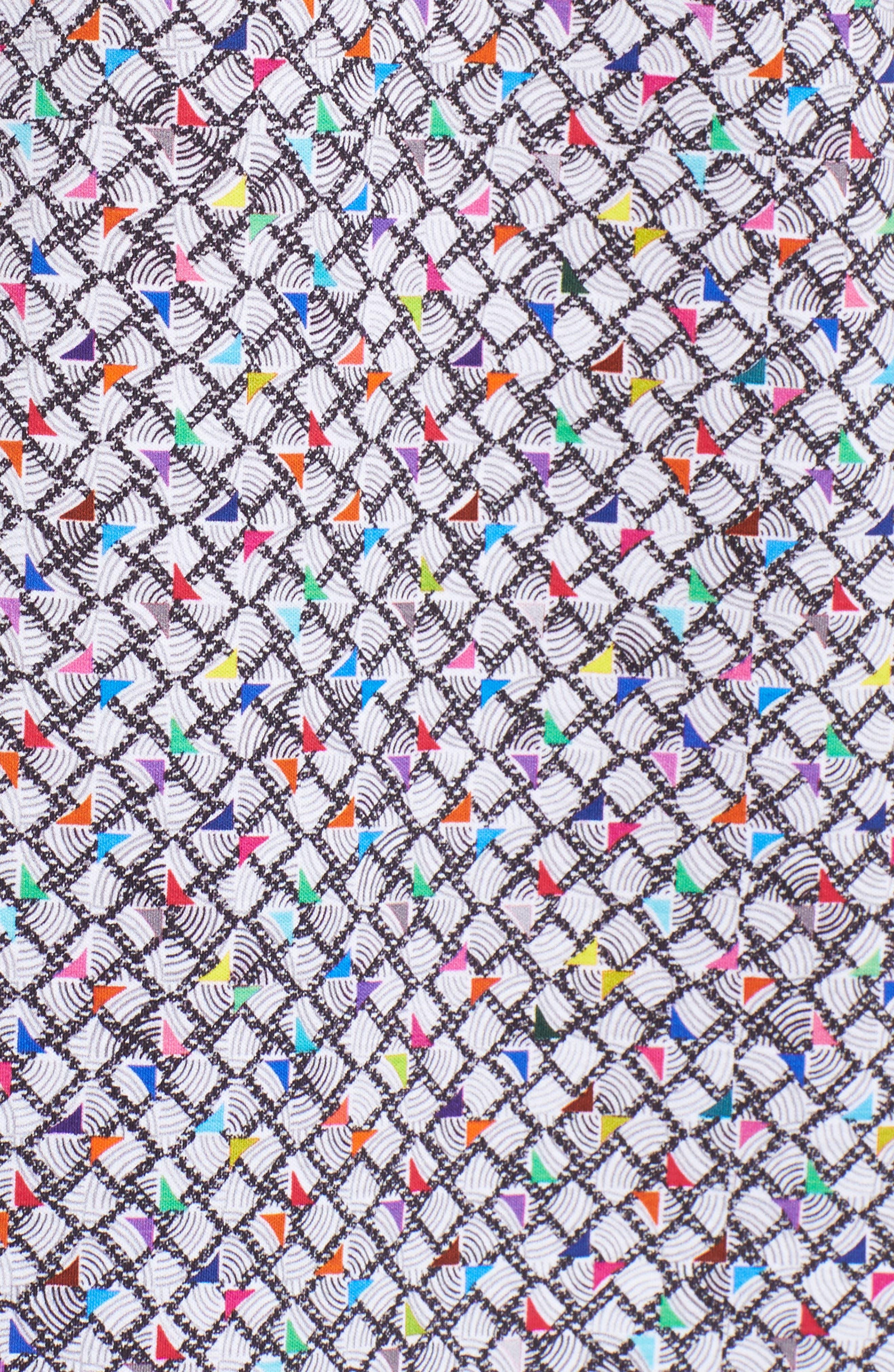 Regular Fit Knit Polo,                             Alternate thumbnail 5, color,                             Graphite