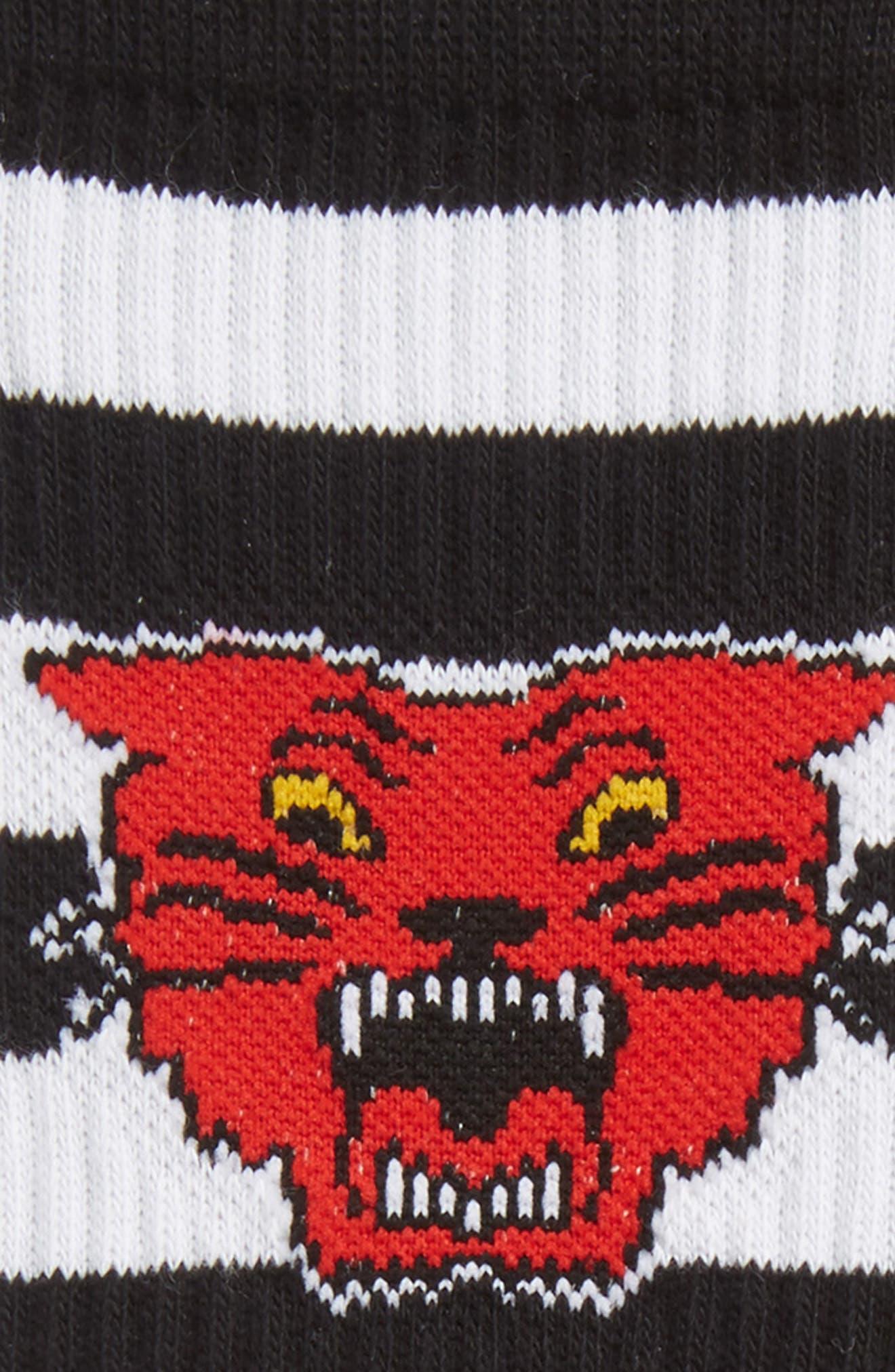 Bleacher Socks,                             Alternate thumbnail 2, color,                             Black