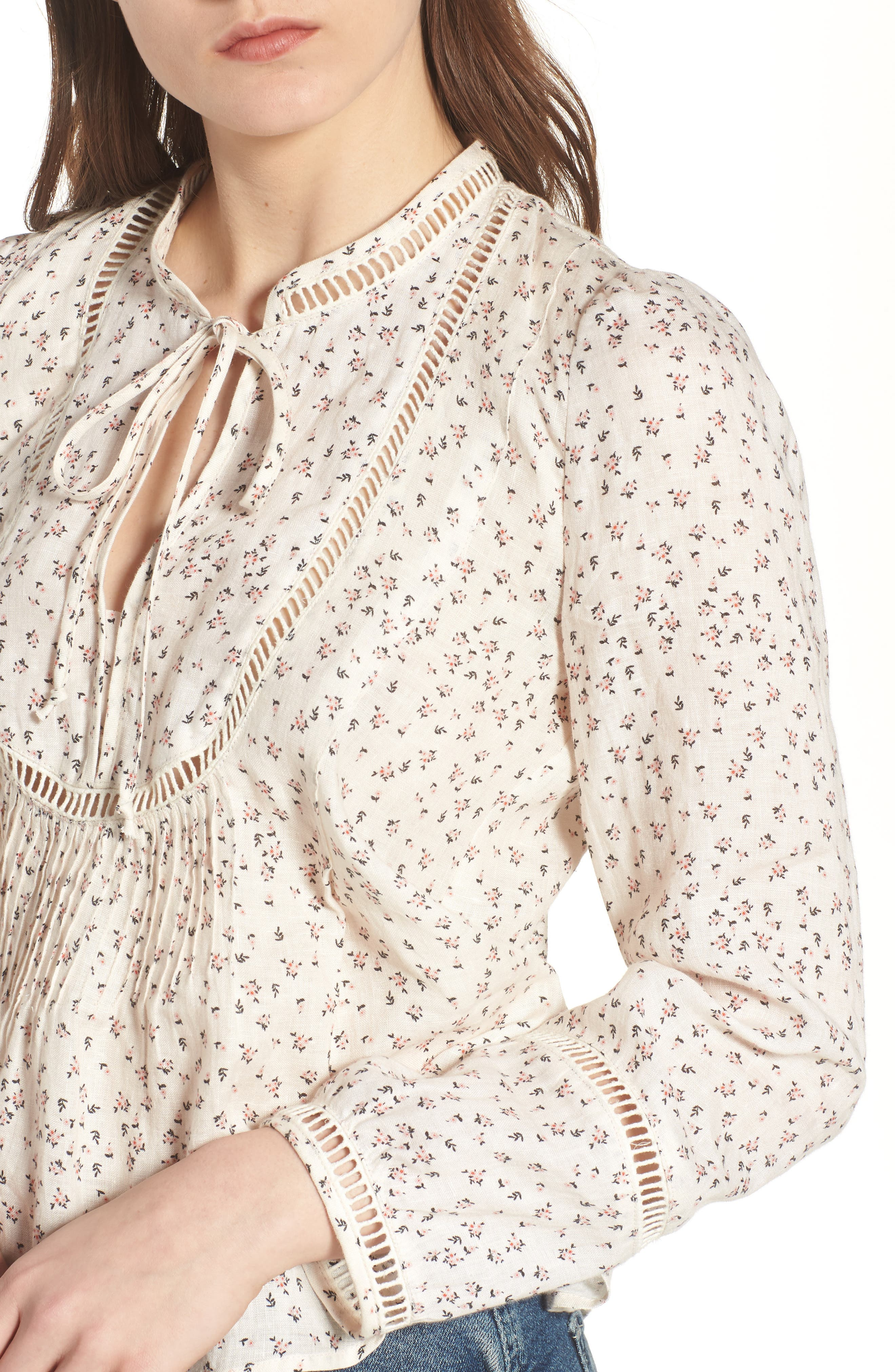 Lillet Blouse,                             Alternate thumbnail 4, color,                             Rose Garden