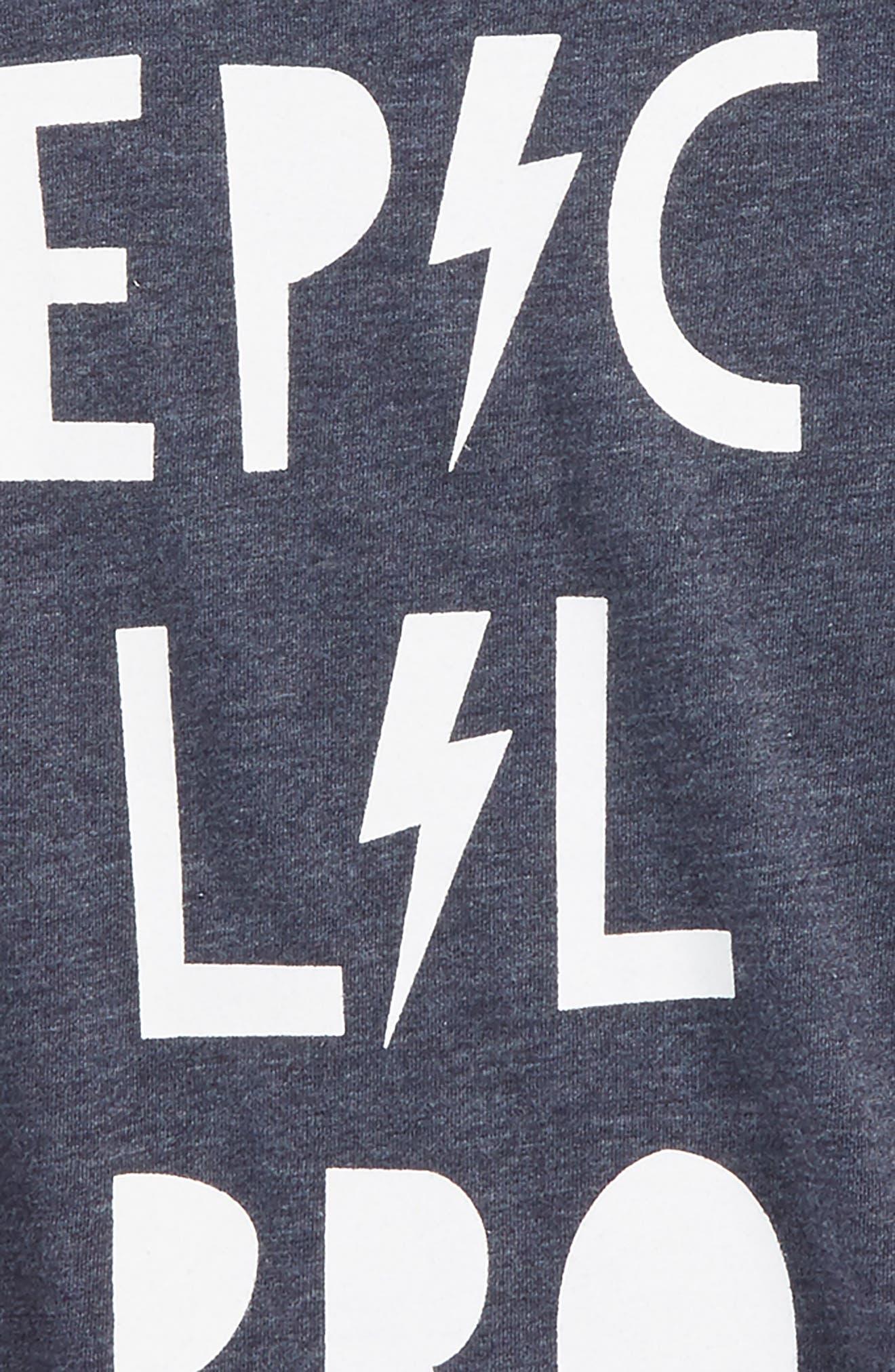 Alternate Image 2  - Chaser Epic Lil' Bro Graphic T-Shirt (Toddler Boys, Little Boys & Big Boys)