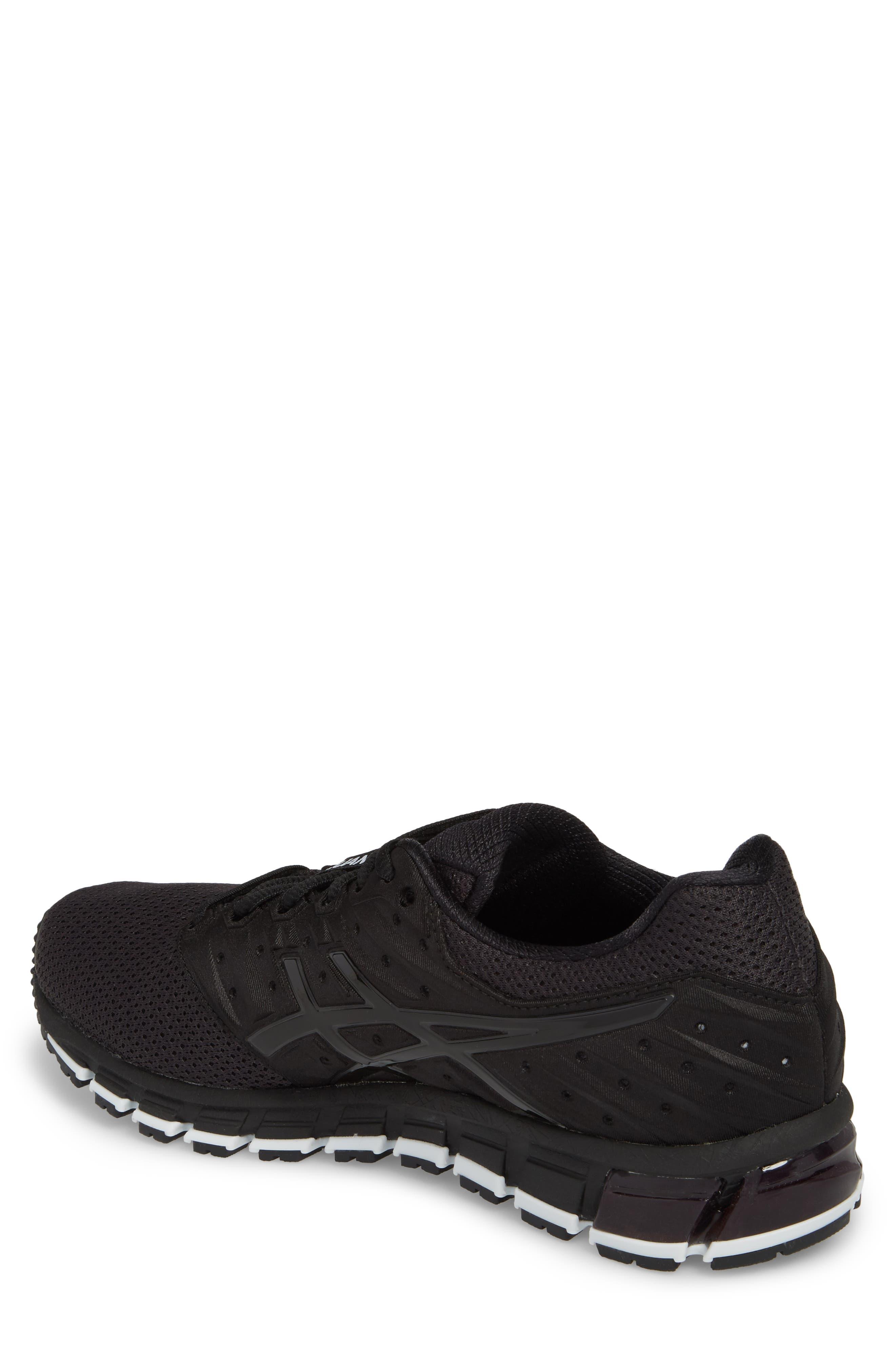 GEL-Quantum 180 2 MX Running Shoe,                             Alternate thumbnail 2, color,                             Phantom/ Black/ White