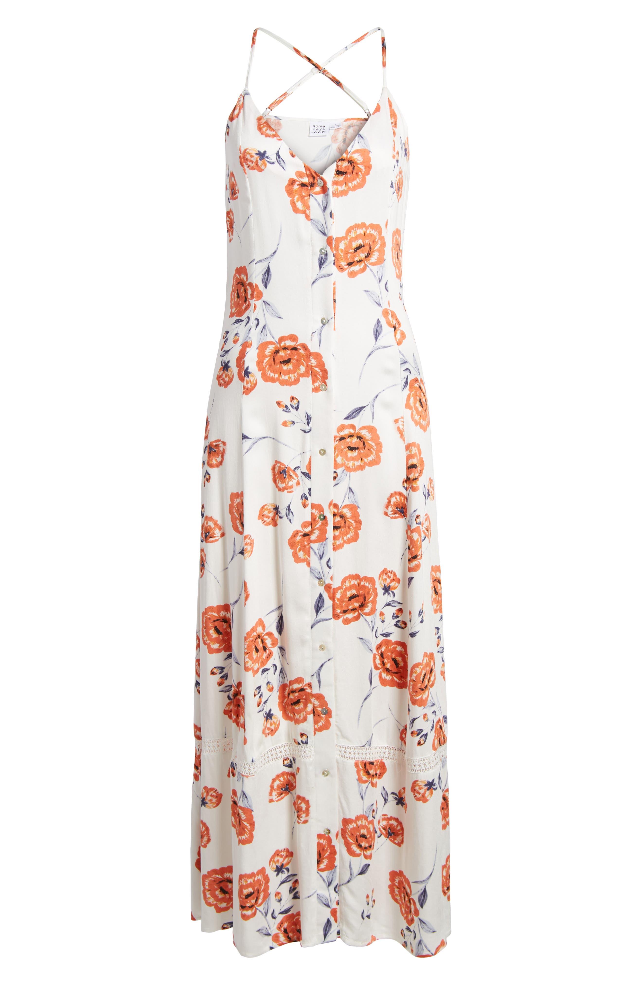 Sweet Surrender Maxi Dress,                             Alternate thumbnail 6, color,                             Multi