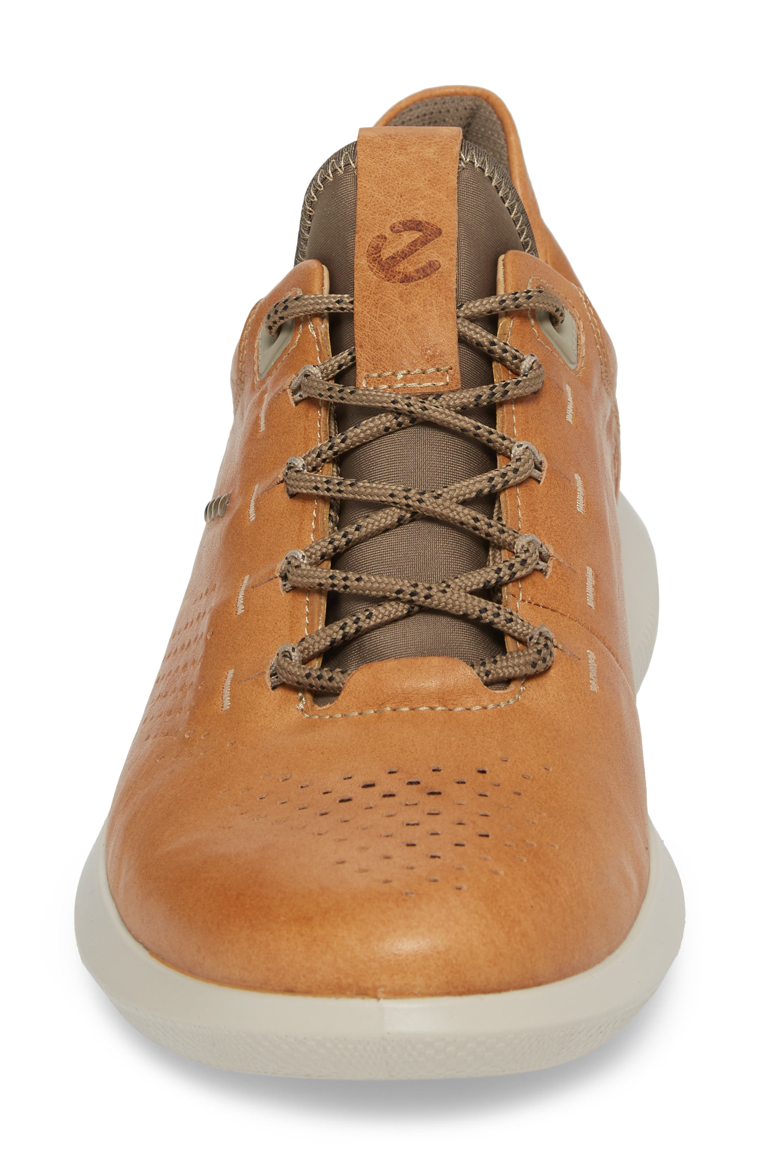 Scinapse Sneaker,                             Alternate thumbnail 4, color,                             Brown Leather