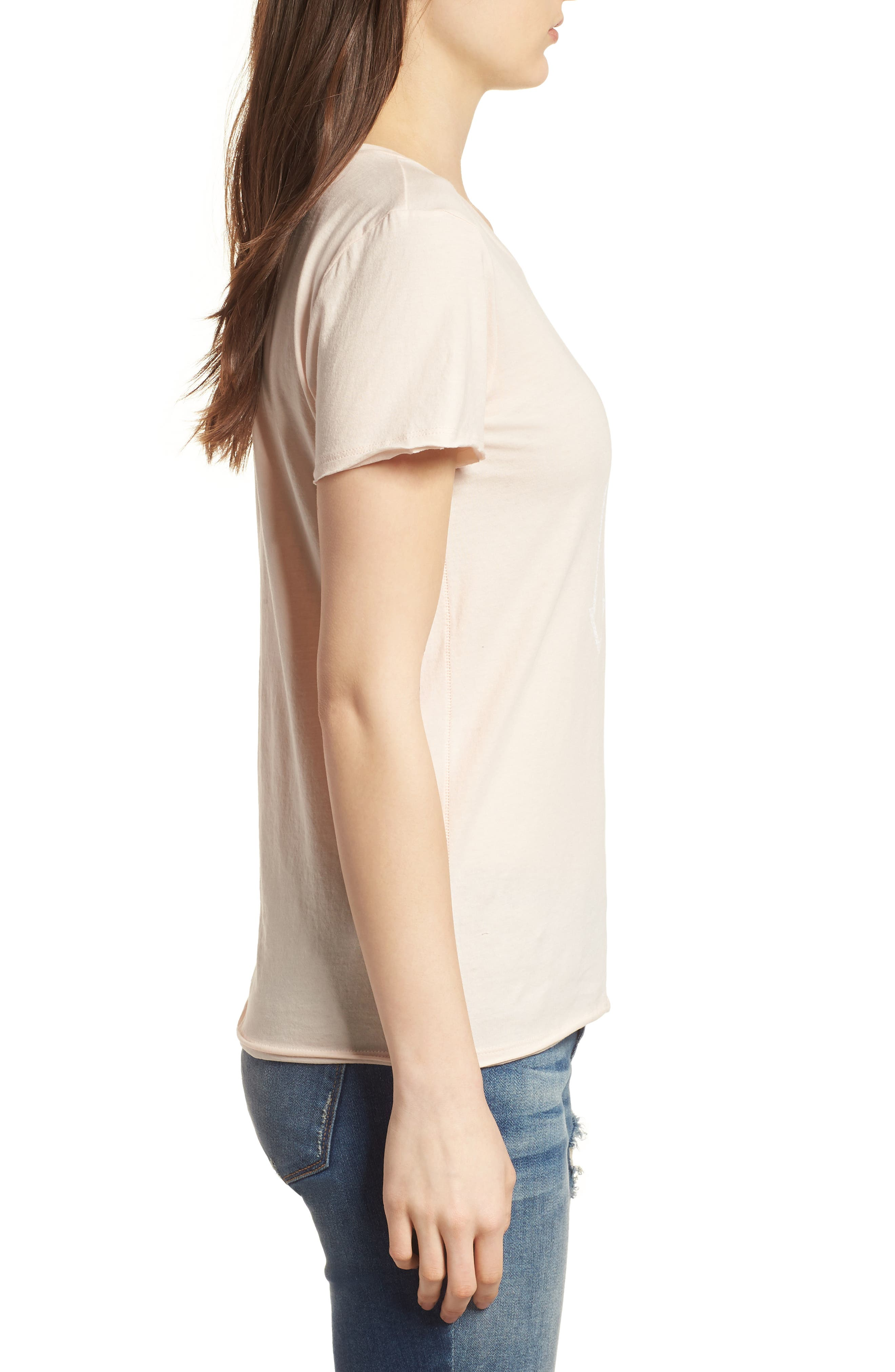 Seattle Mariners Fader Letter Tee,                             Alternate thumbnail 3, color,                             Blush