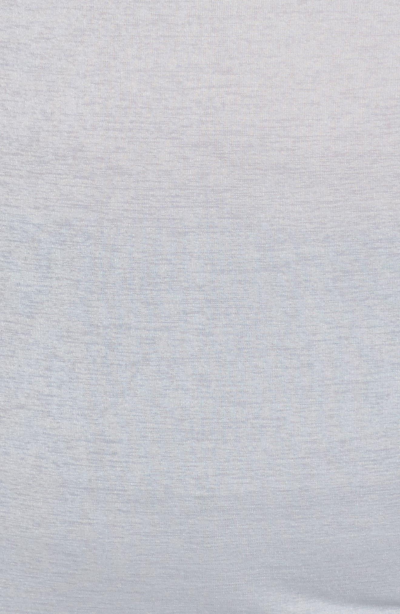 Adventure Cowl Neck Hoodie,                             Alternate thumbnail 5, color,                             Grey Wolf