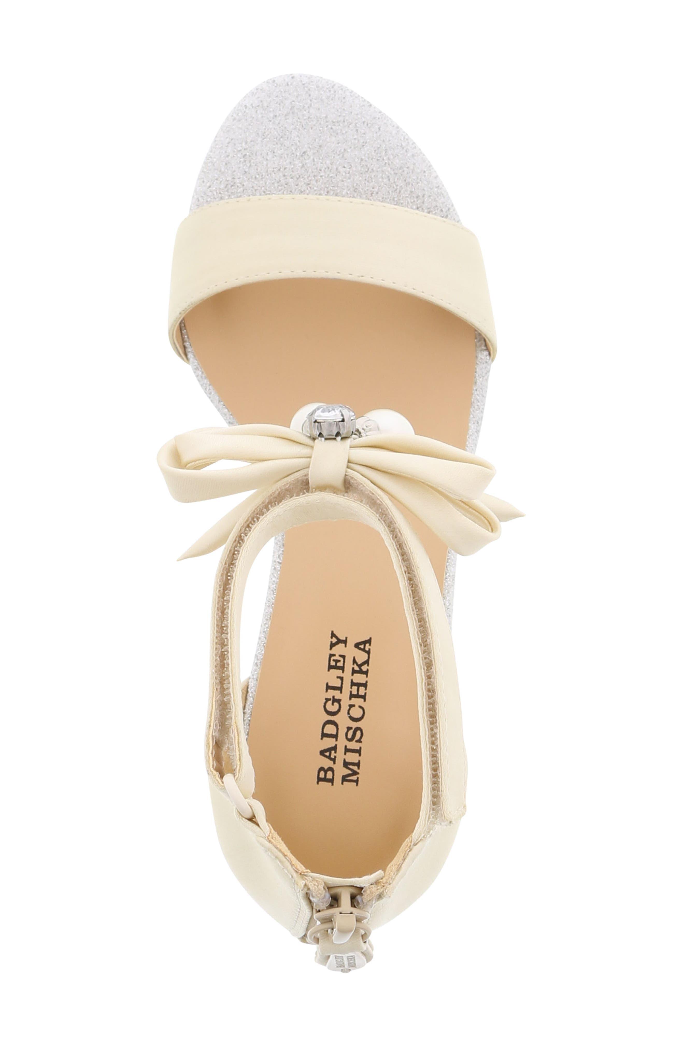 Alternate Image 4  - Badgley Mischka Pernia Embellished Sandal (Toddler, Little Kid & Big Kid)