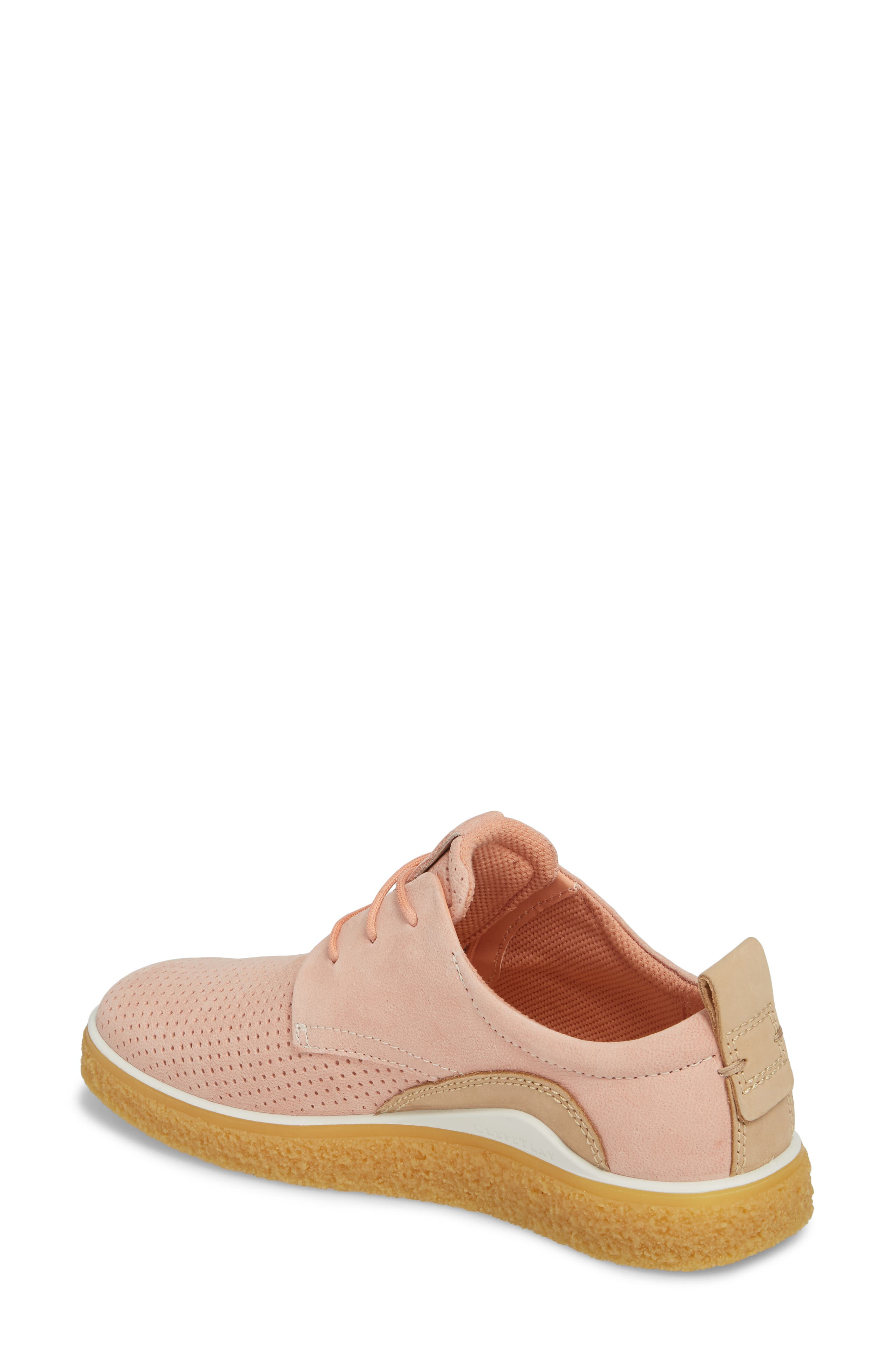 Crepetray Sneaker,                             Alternate thumbnail 2, color,                             Muted Clay Powder Leather