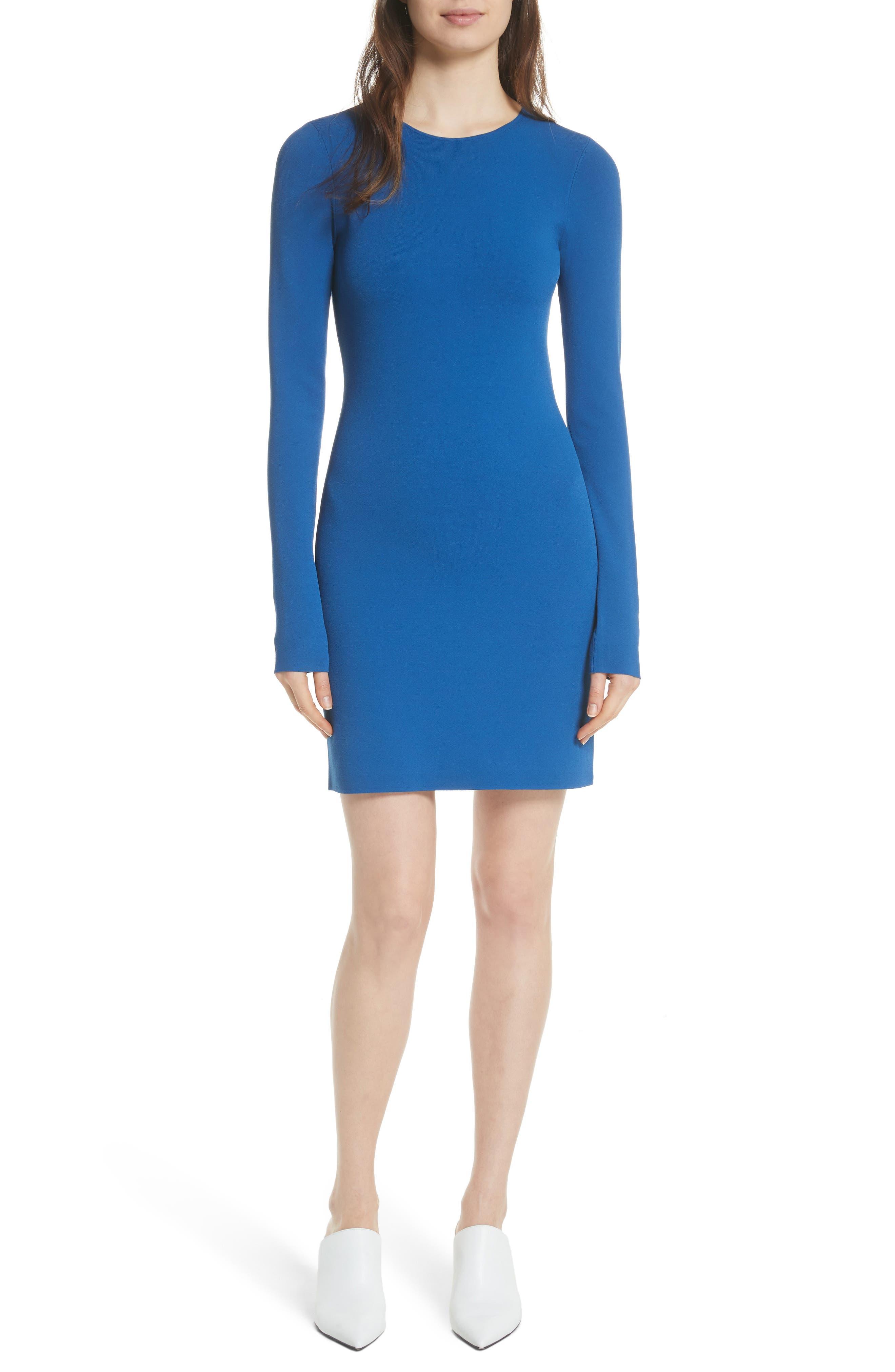 Main Image - Diane von Furstenberg Long Sleeve Minidress