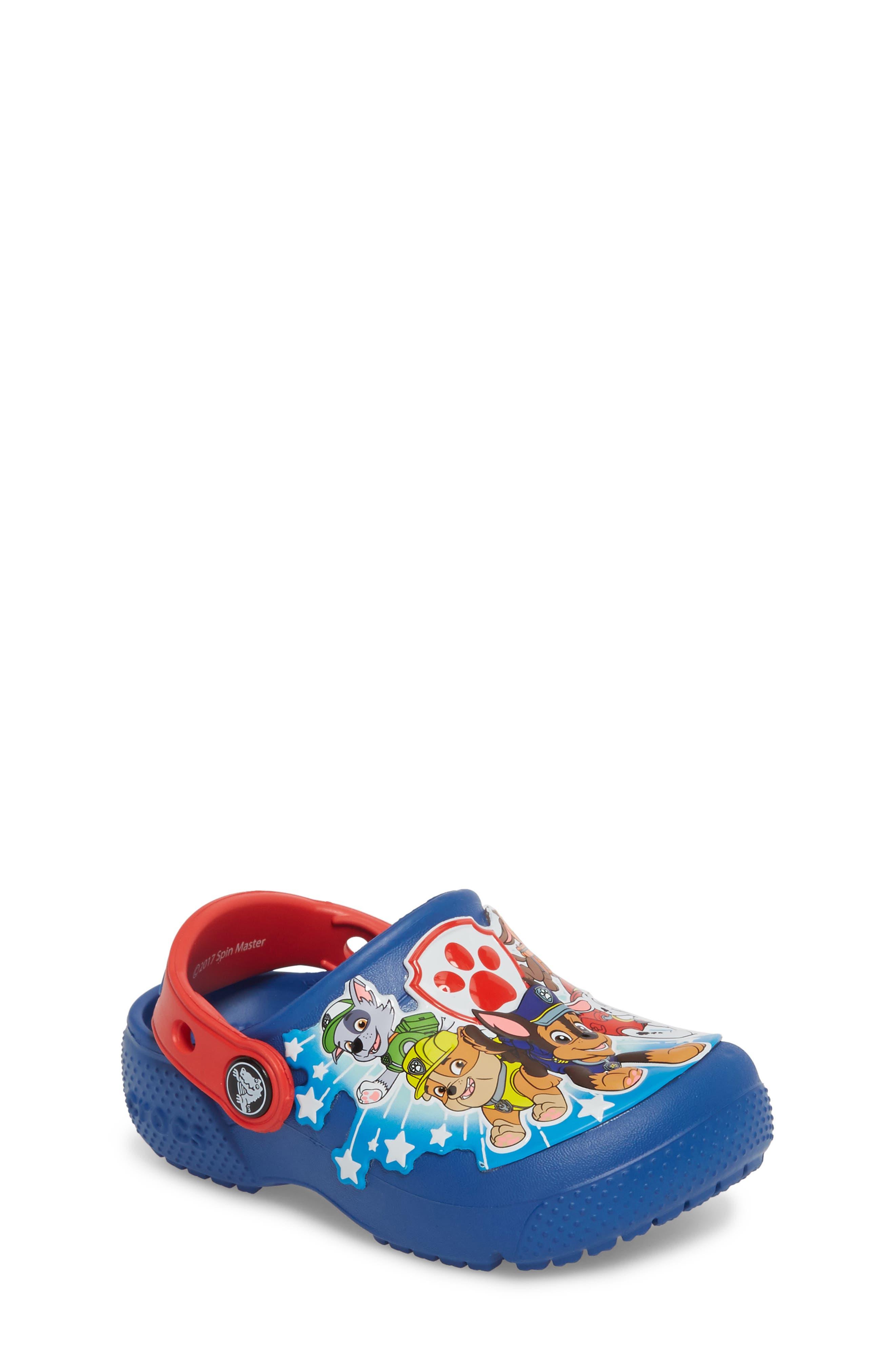 CROCS™ Fun Lab Paw Patrol™ Clog (Baby, Walker, Toddler & Little Kid)