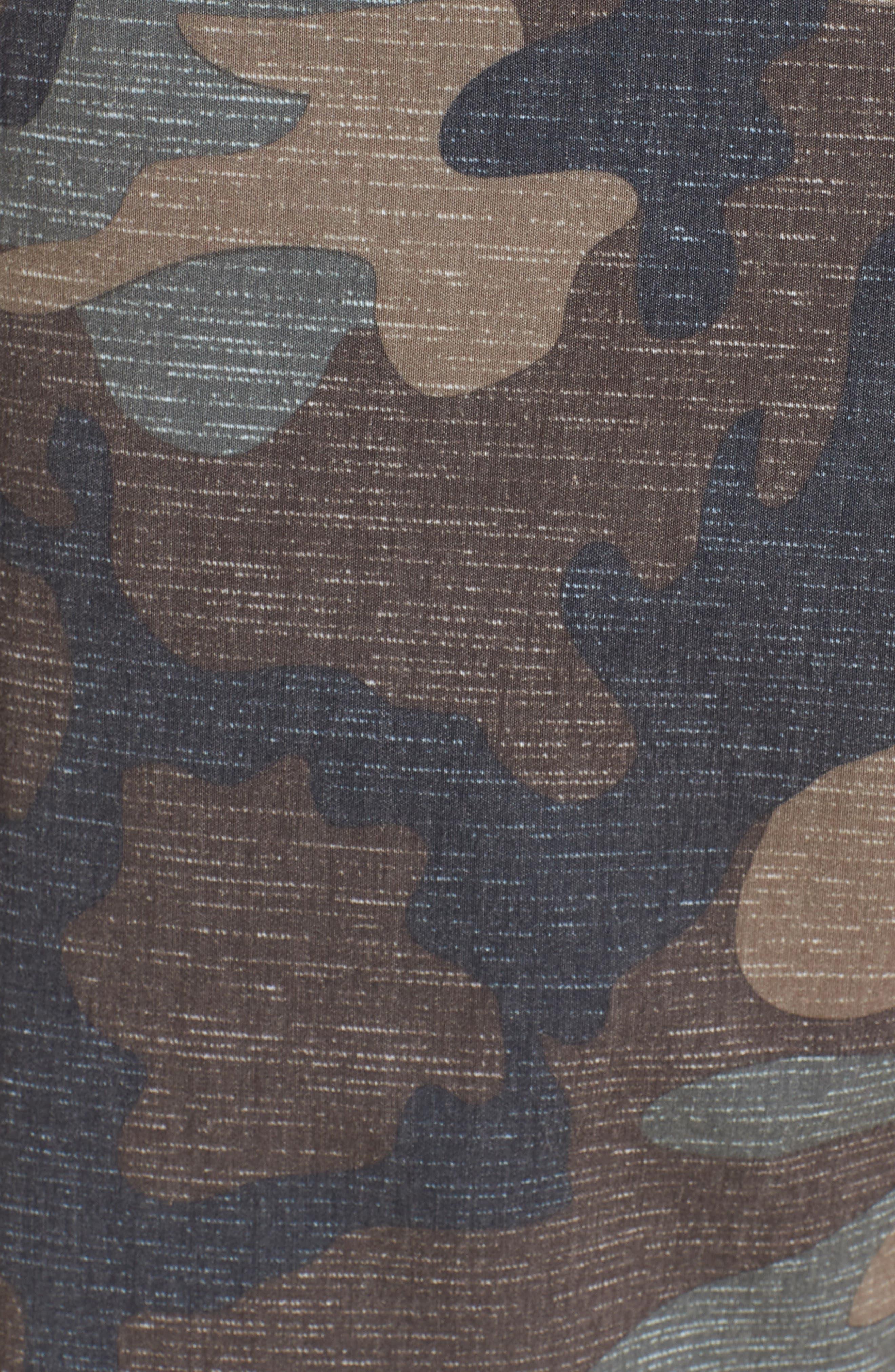 Mixed Hybrid Shorts,                             Alternate thumbnail 5, color,                             Camo
