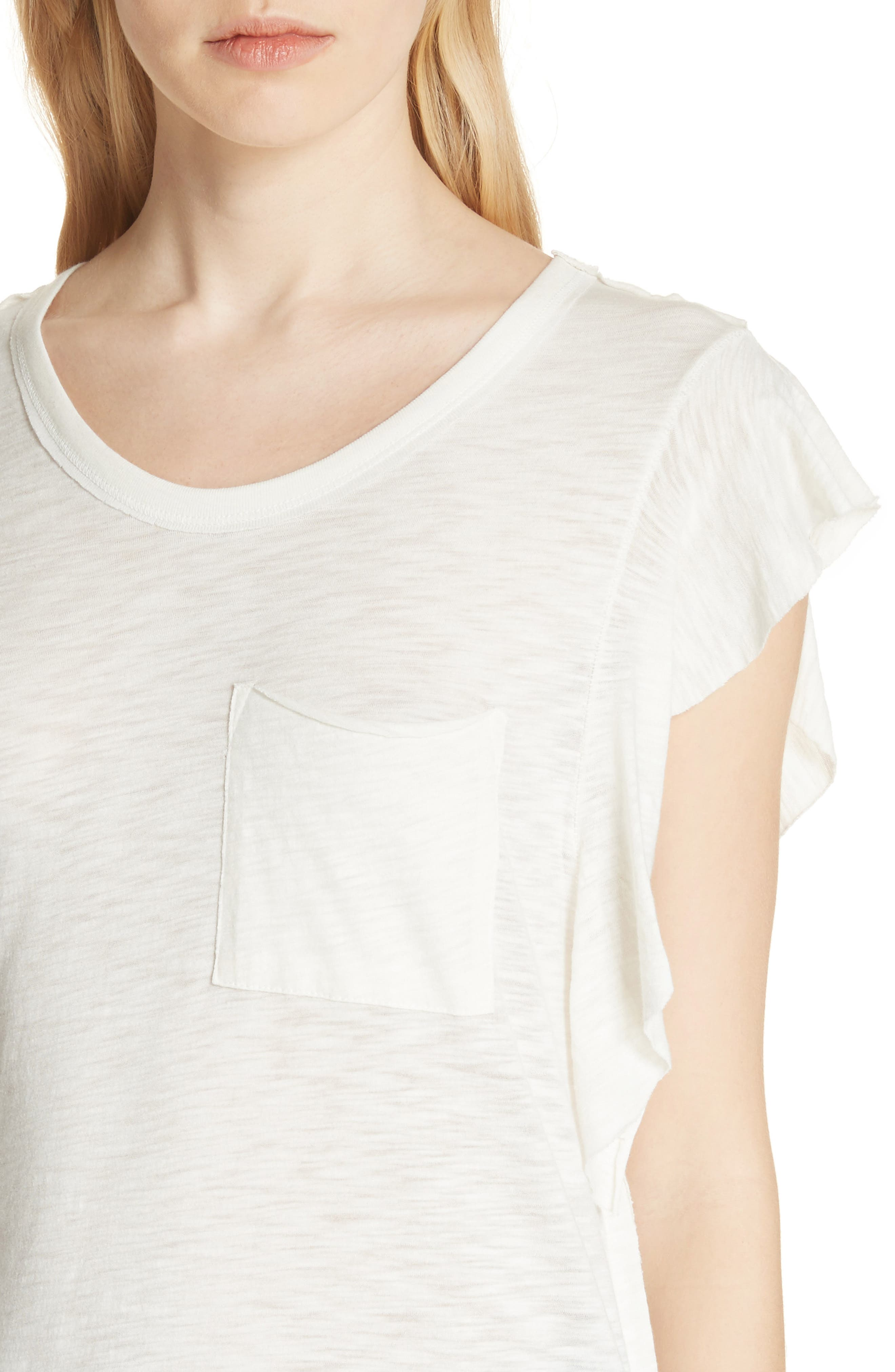 So Easy Tee,                             Alternate thumbnail 4, color,                             Ivory