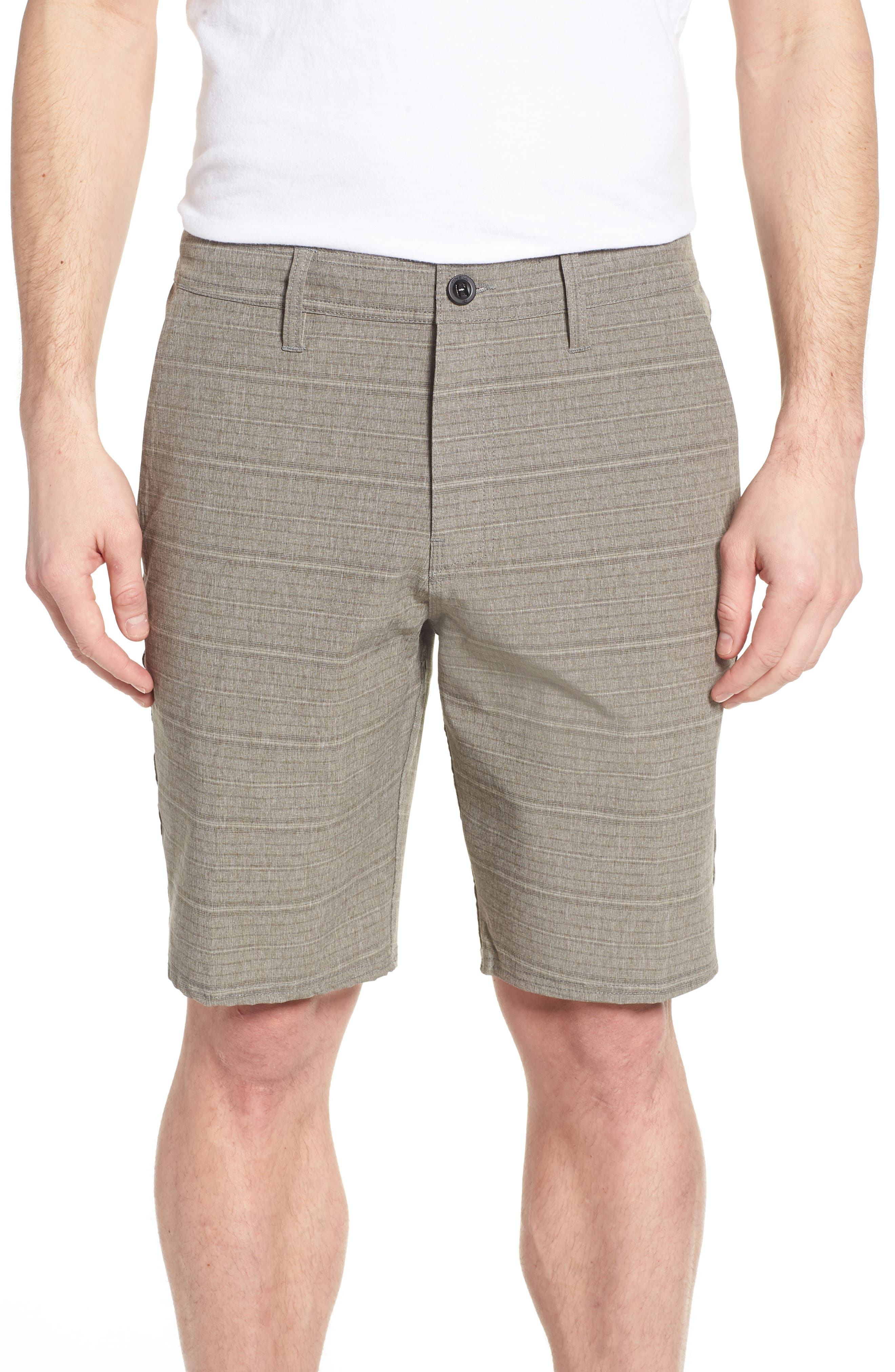 Alternate Image 1 Selected - O'Neill Locked Stripe Hybrid Shorts