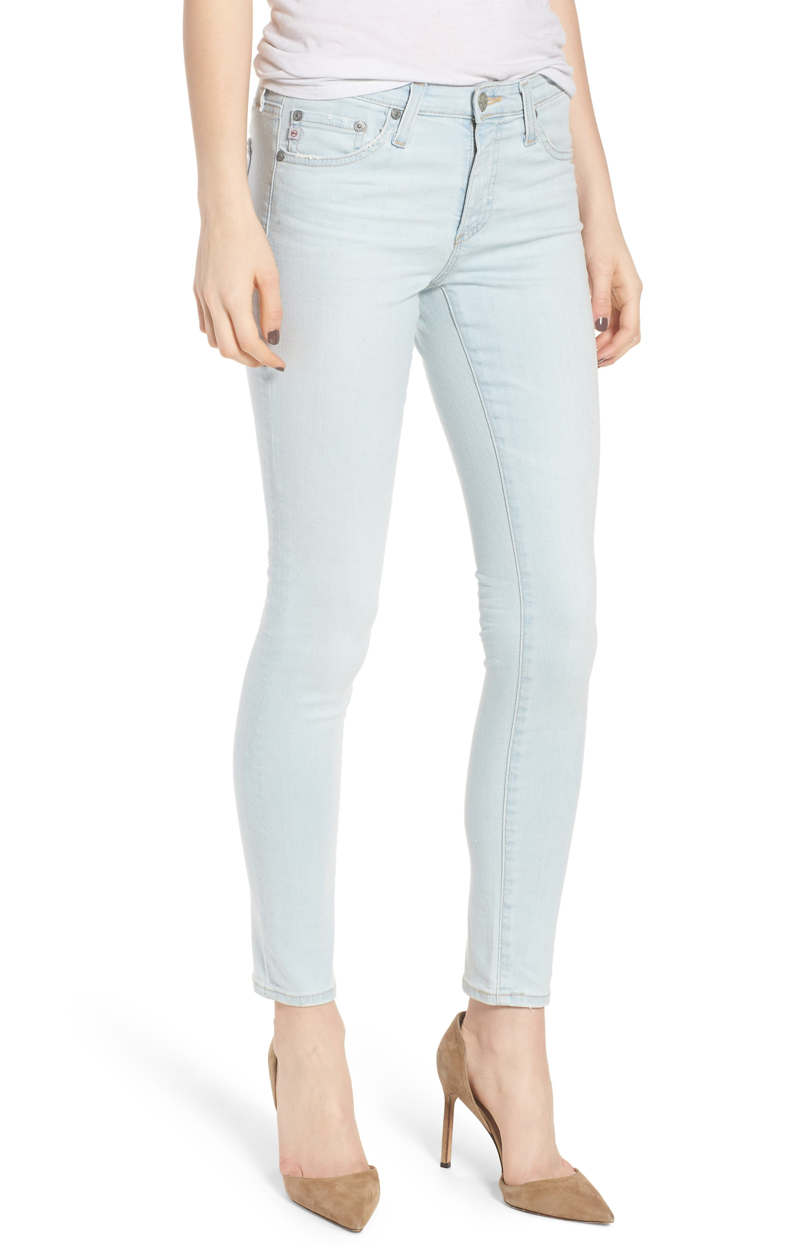 The Legging Ankle Skinny Jeans,                         Main,                         color, 26 Years-Sandcastles