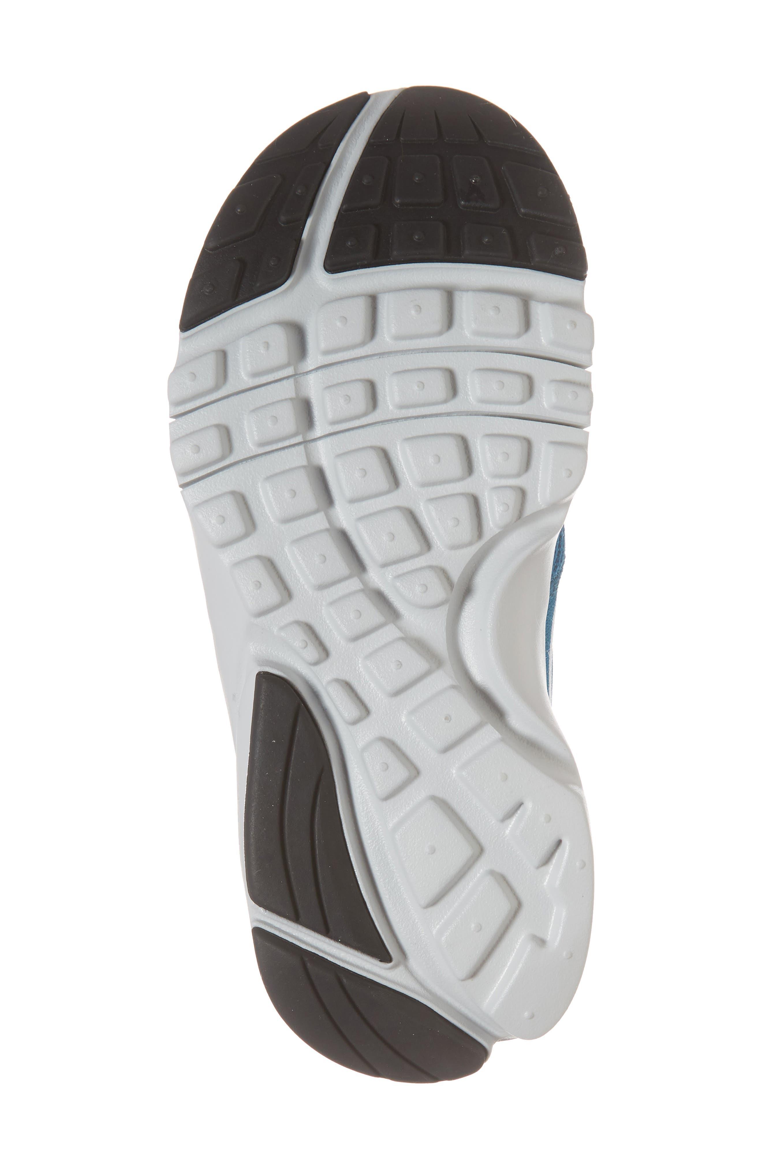 Presto Fly Sneaker,                             Alternate thumbnail 6, color,                             Green Abyss/ Platinum/ Black