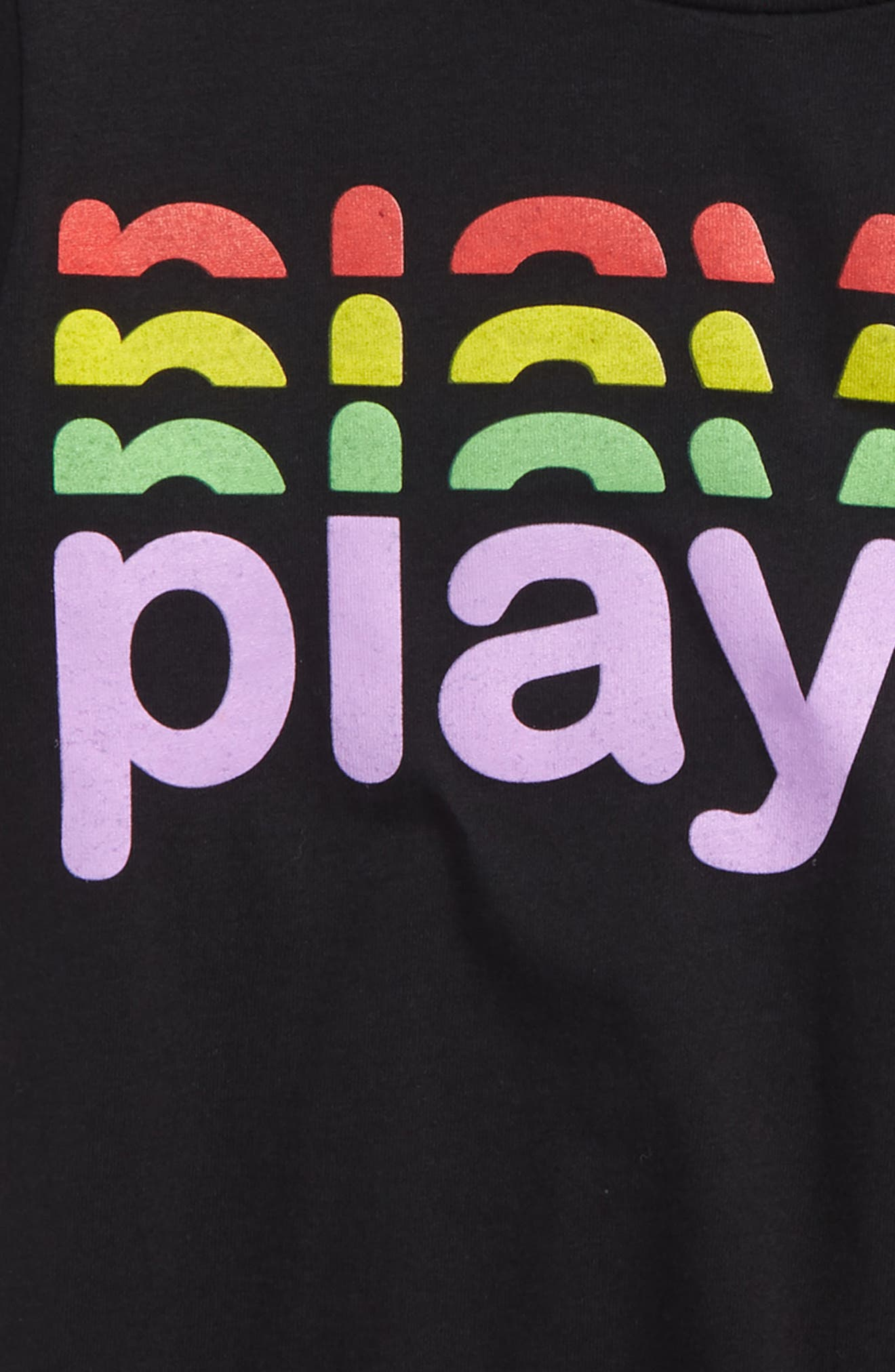 Player Graphic T-Shirt,                             Alternate thumbnail 2, color,                             Black