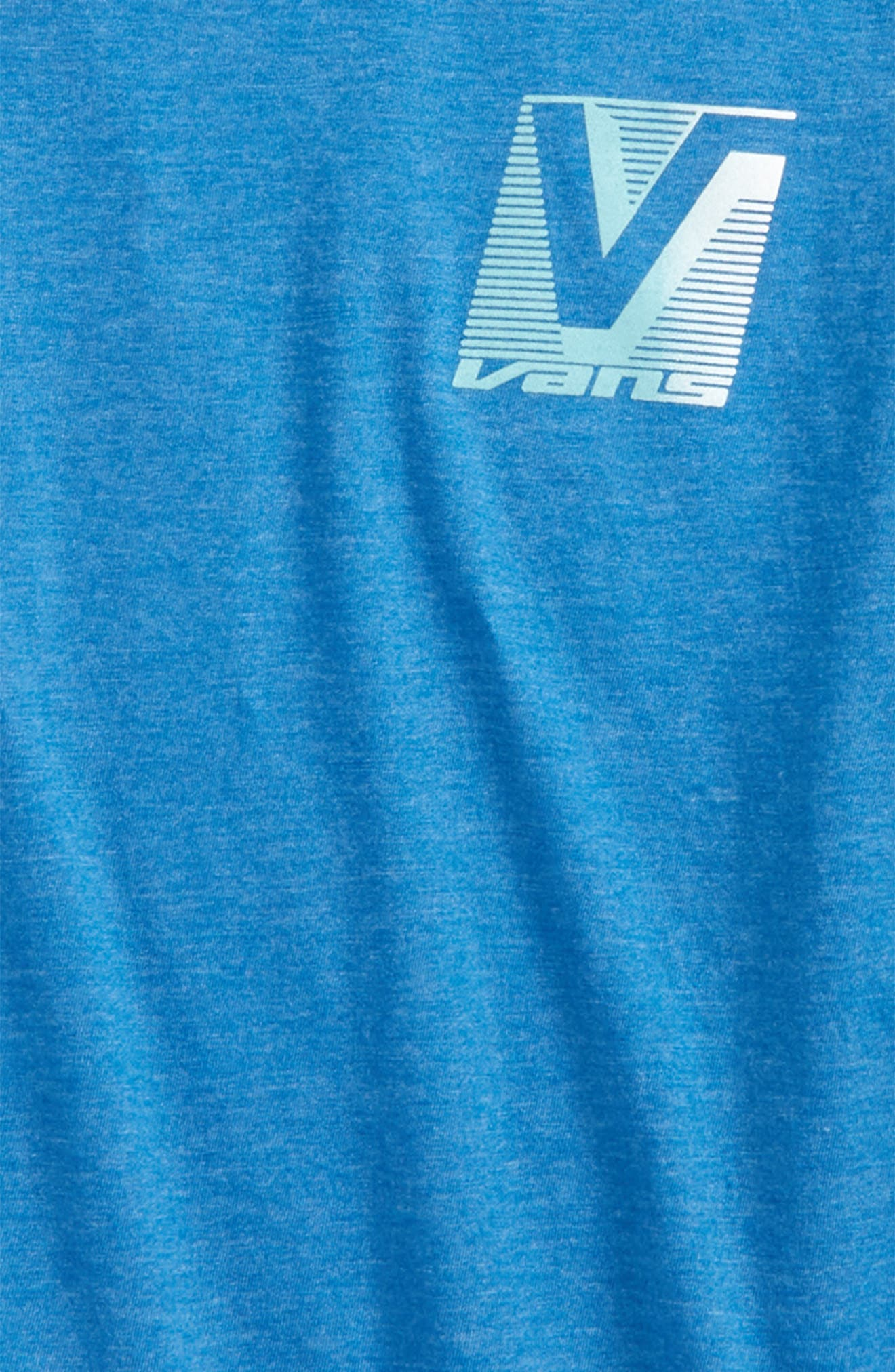 By Grand Graphic T-Shirt,                             Alternate thumbnail 3, color,                             Royal Heather
