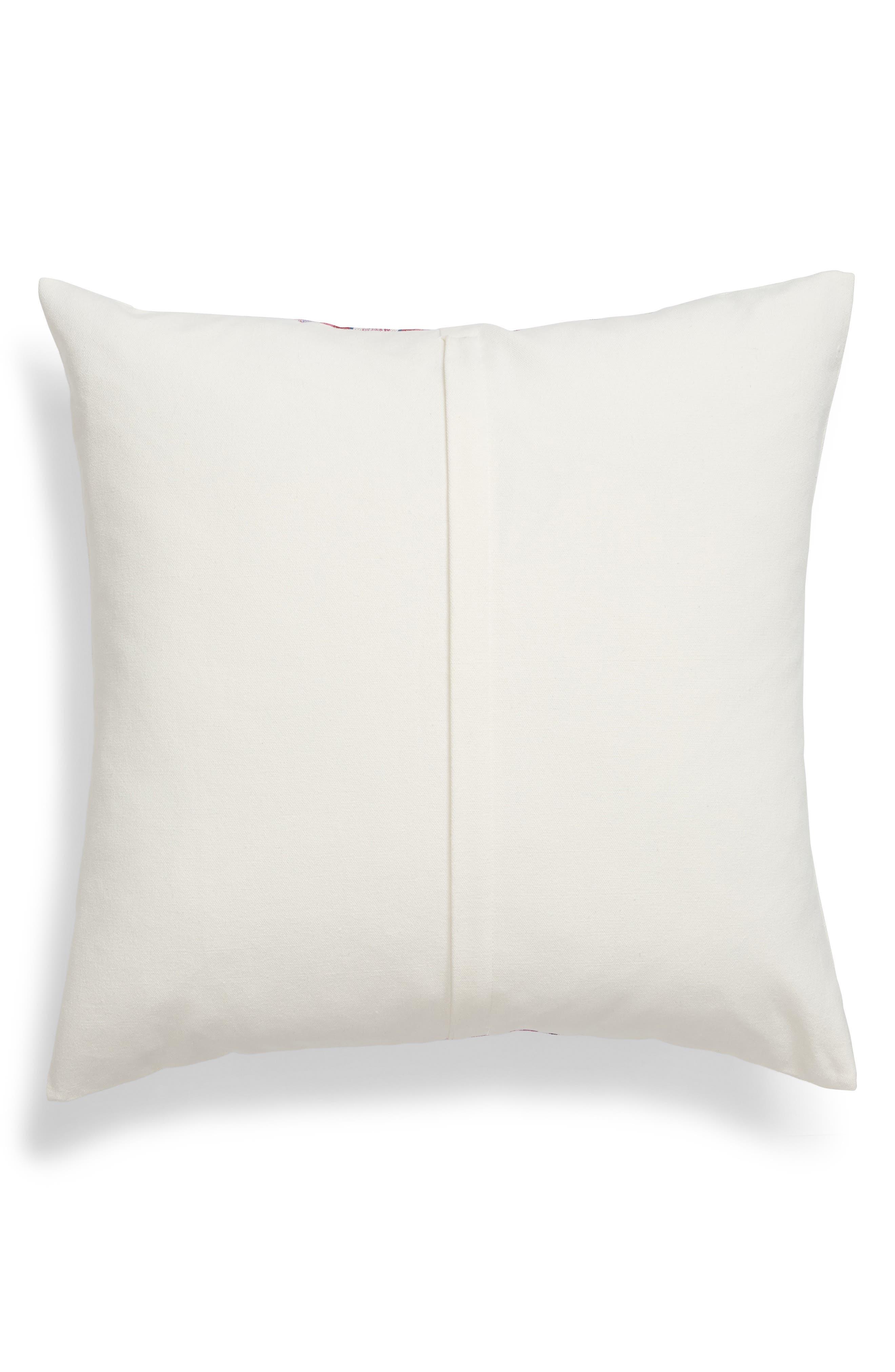 Serape Stripe Pillow,                             Alternate thumbnail 2, color,                             Multi