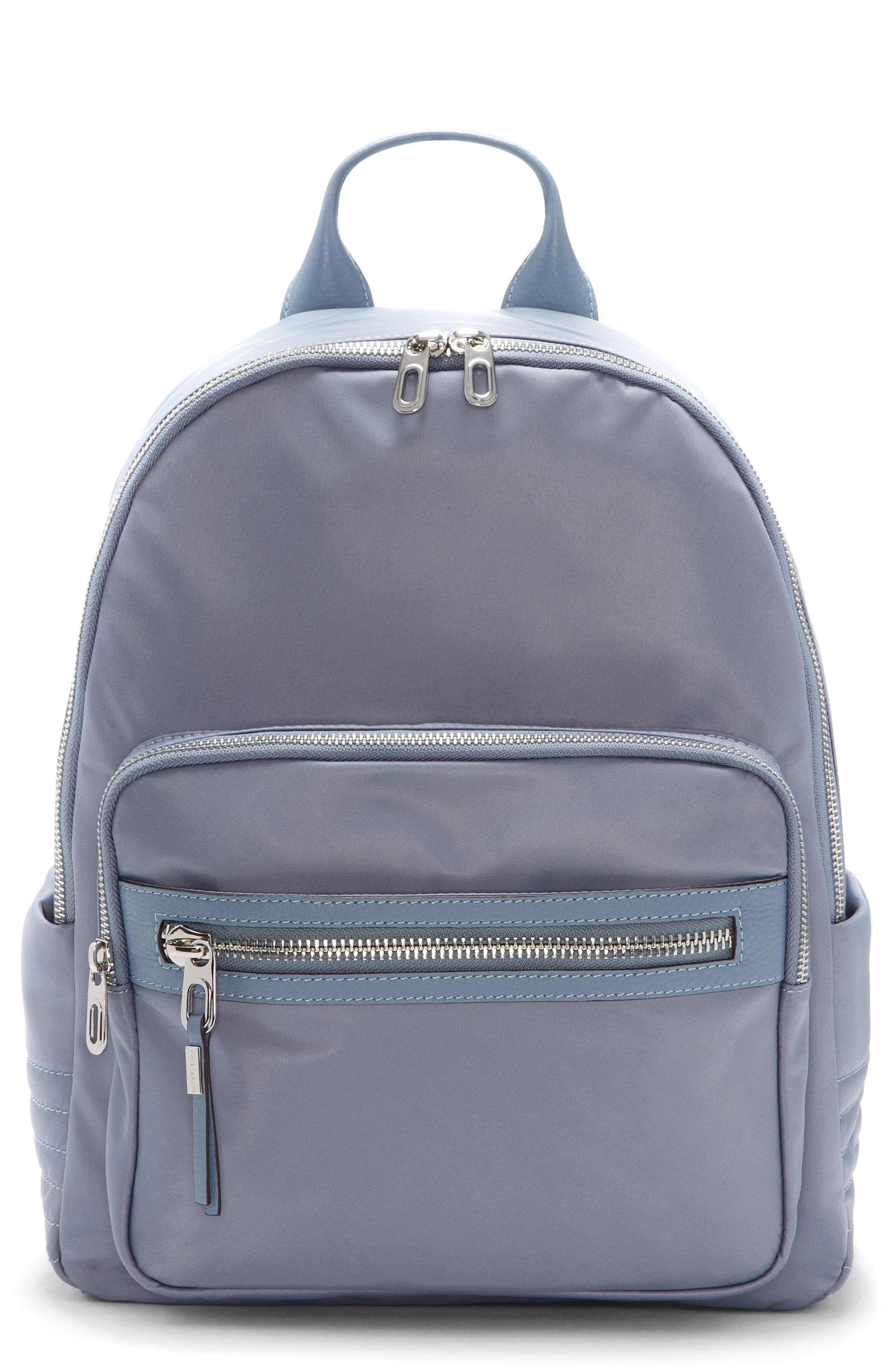 Action Nylon Backpack,                         Main,                         color, Serenity Blue