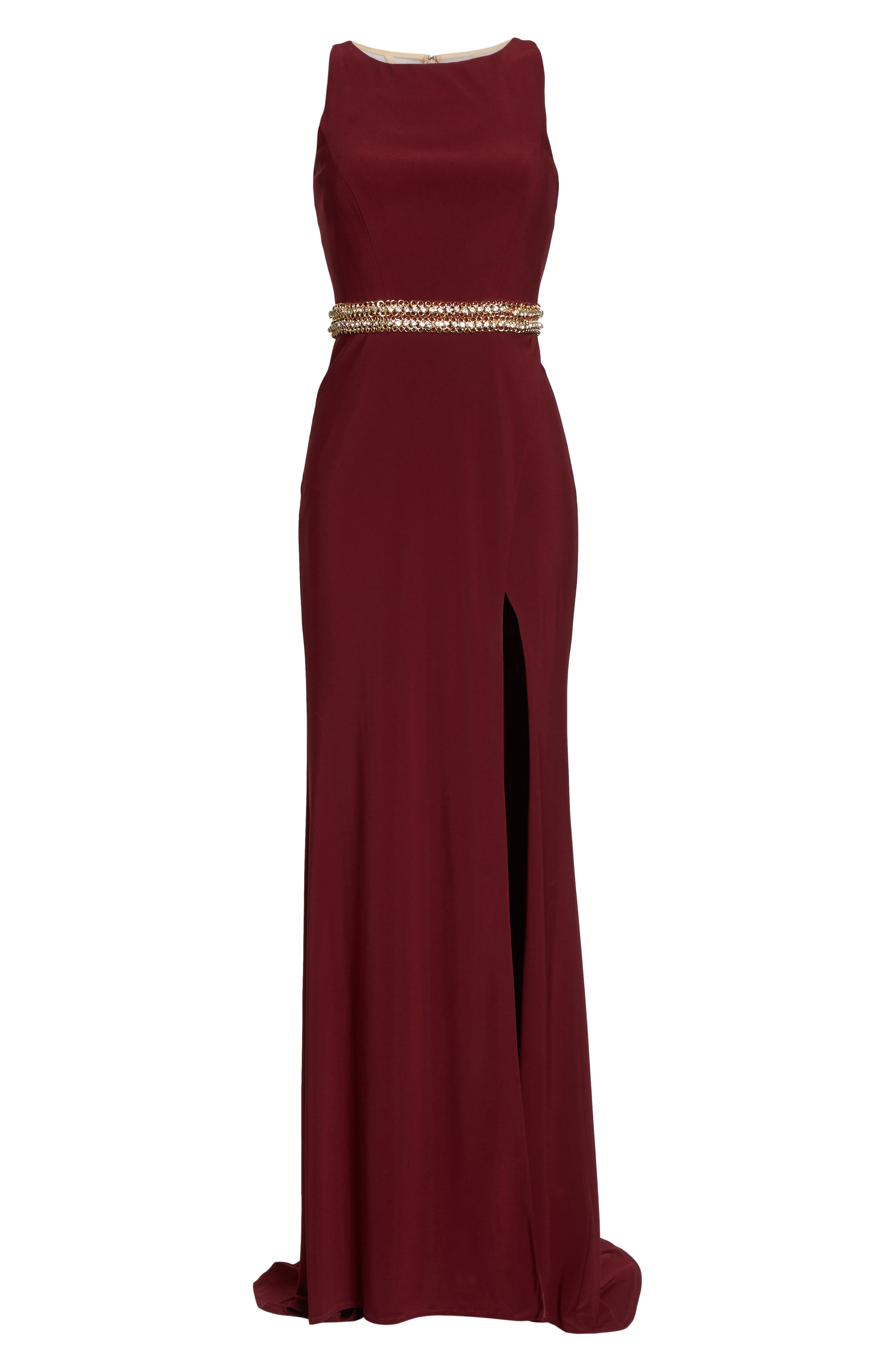 Alternate Image 6  - Mac Duggal Embellished Waist Gown