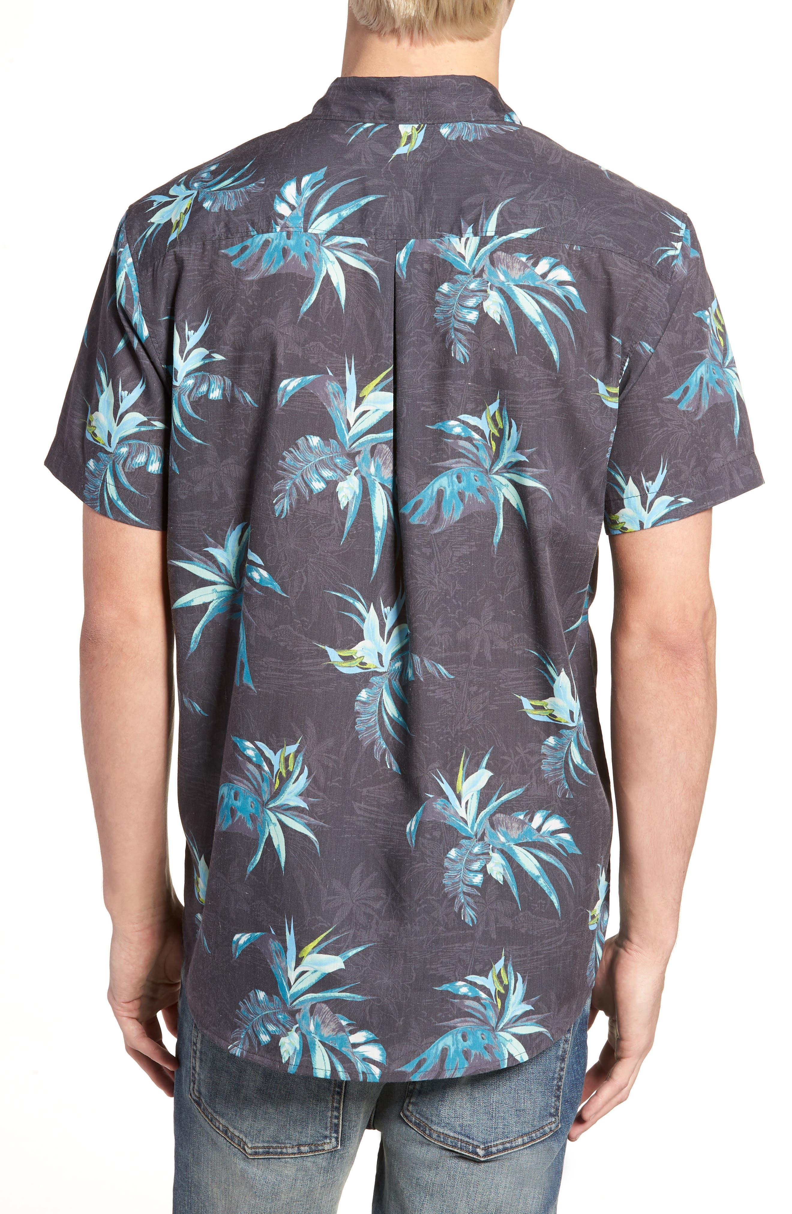 Islander Short Sleeve Shirt,                             Alternate thumbnail 2, color,                             Mint
