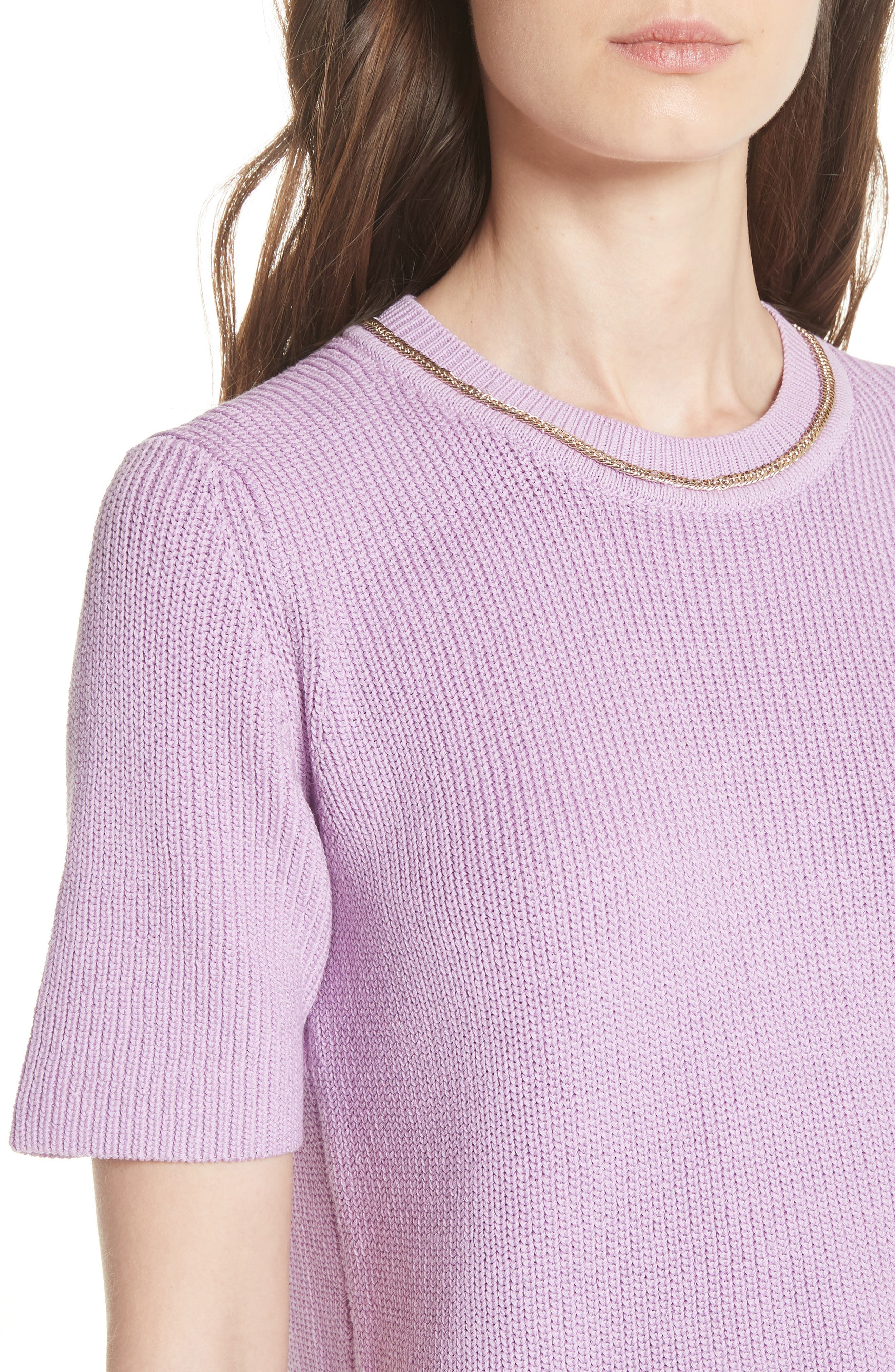 Magrite Sweater,                             Alternate thumbnail 4, color,                             Lilas