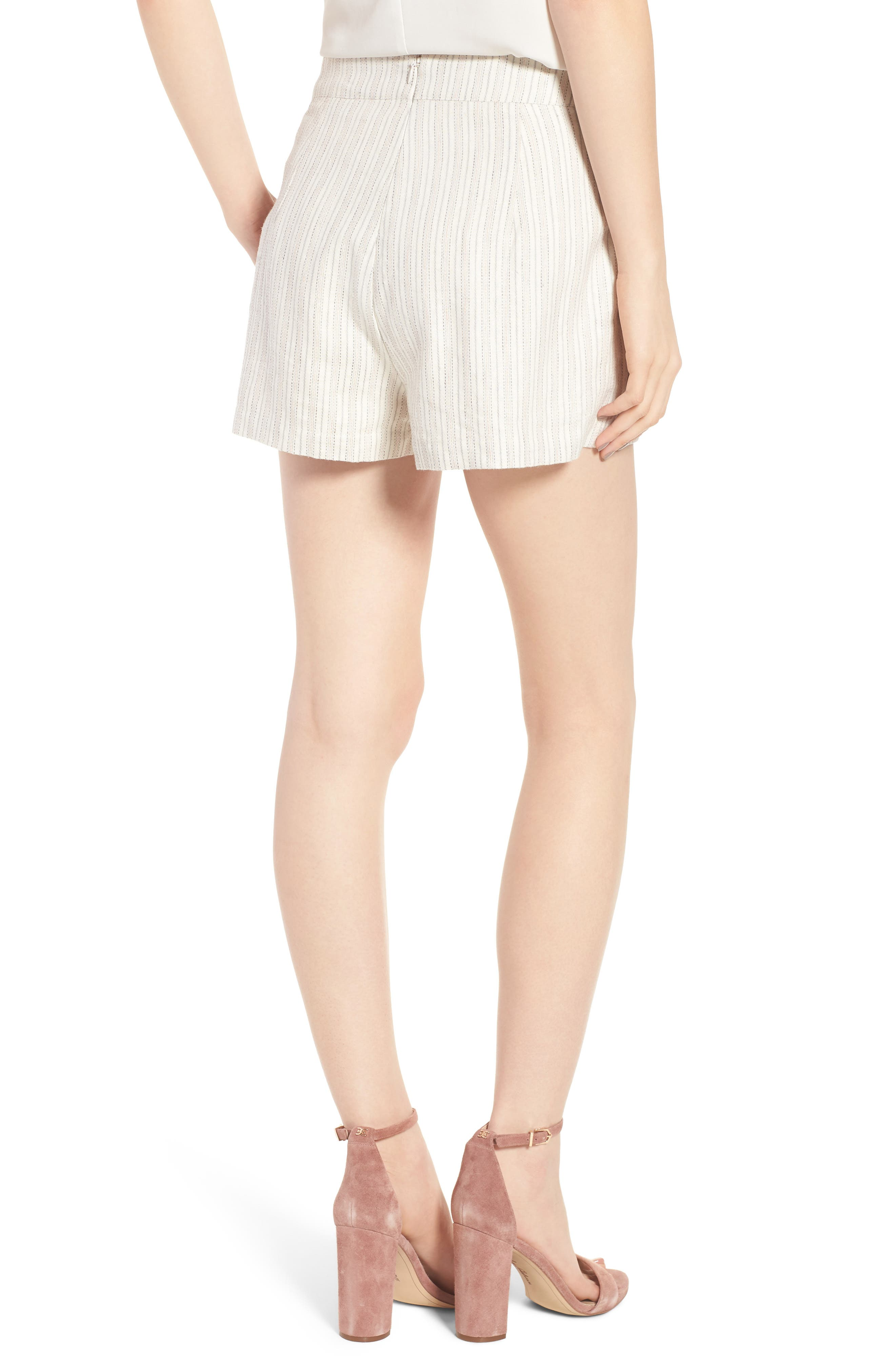 Alta Shorts,                             Alternate thumbnail 3, color,                             Ivory