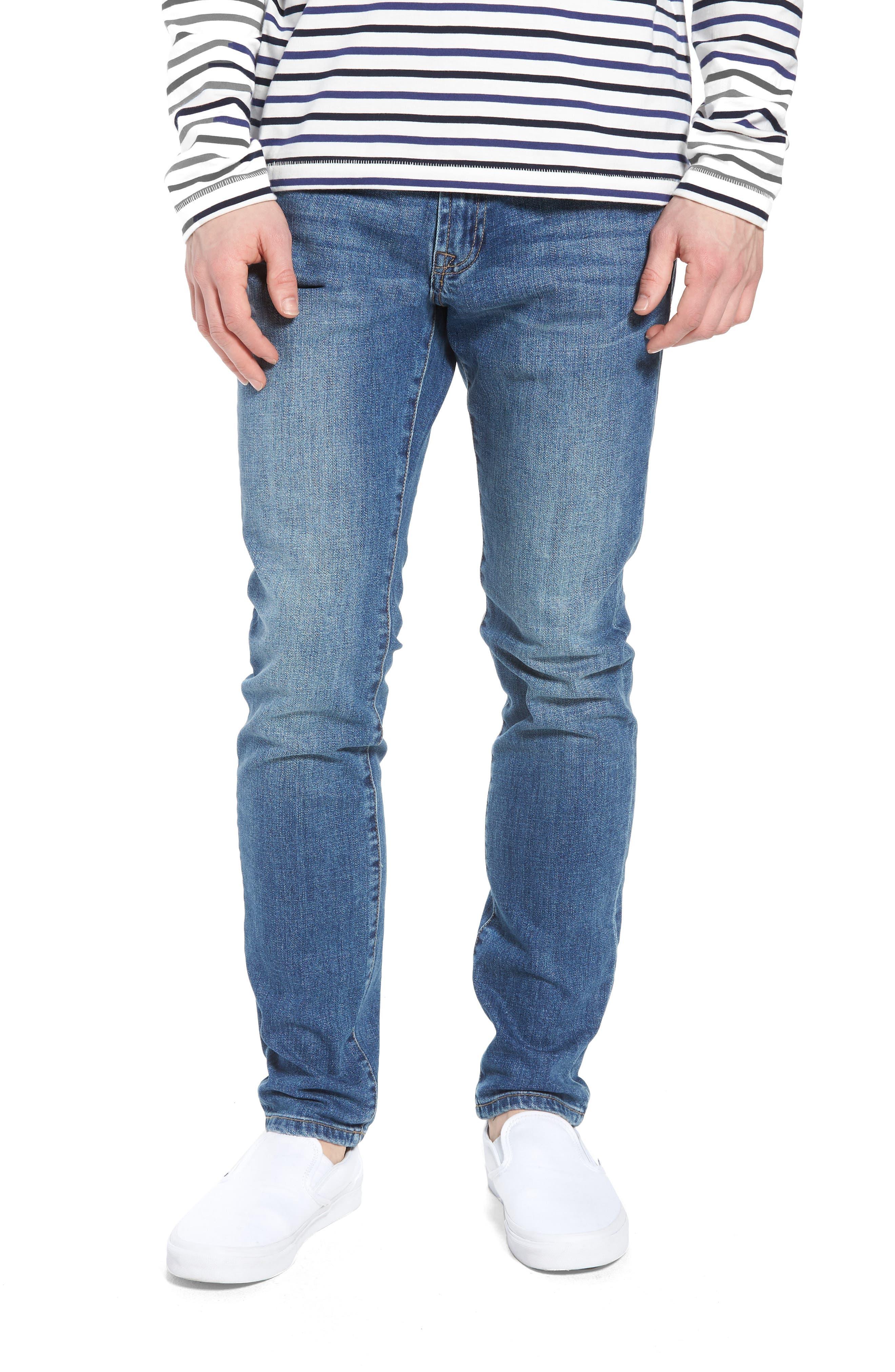 Jeans Co. Bond Skinny Fit Jeans,                         Main,                         color, Bryson Vintage Medium
