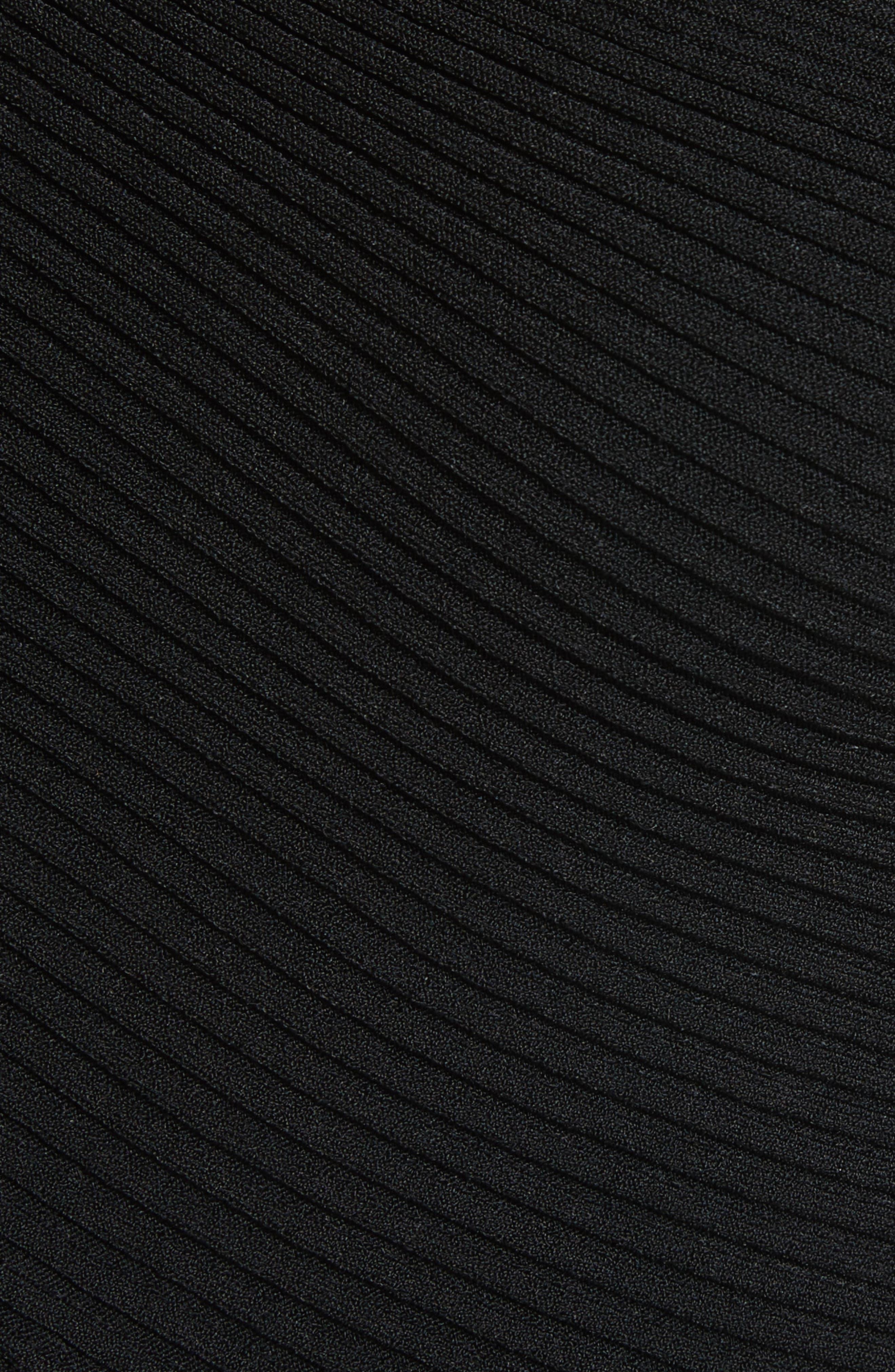 Athena Faux Wrap Sweater,                             Alternate thumbnail 5, color,                             Black Onyx