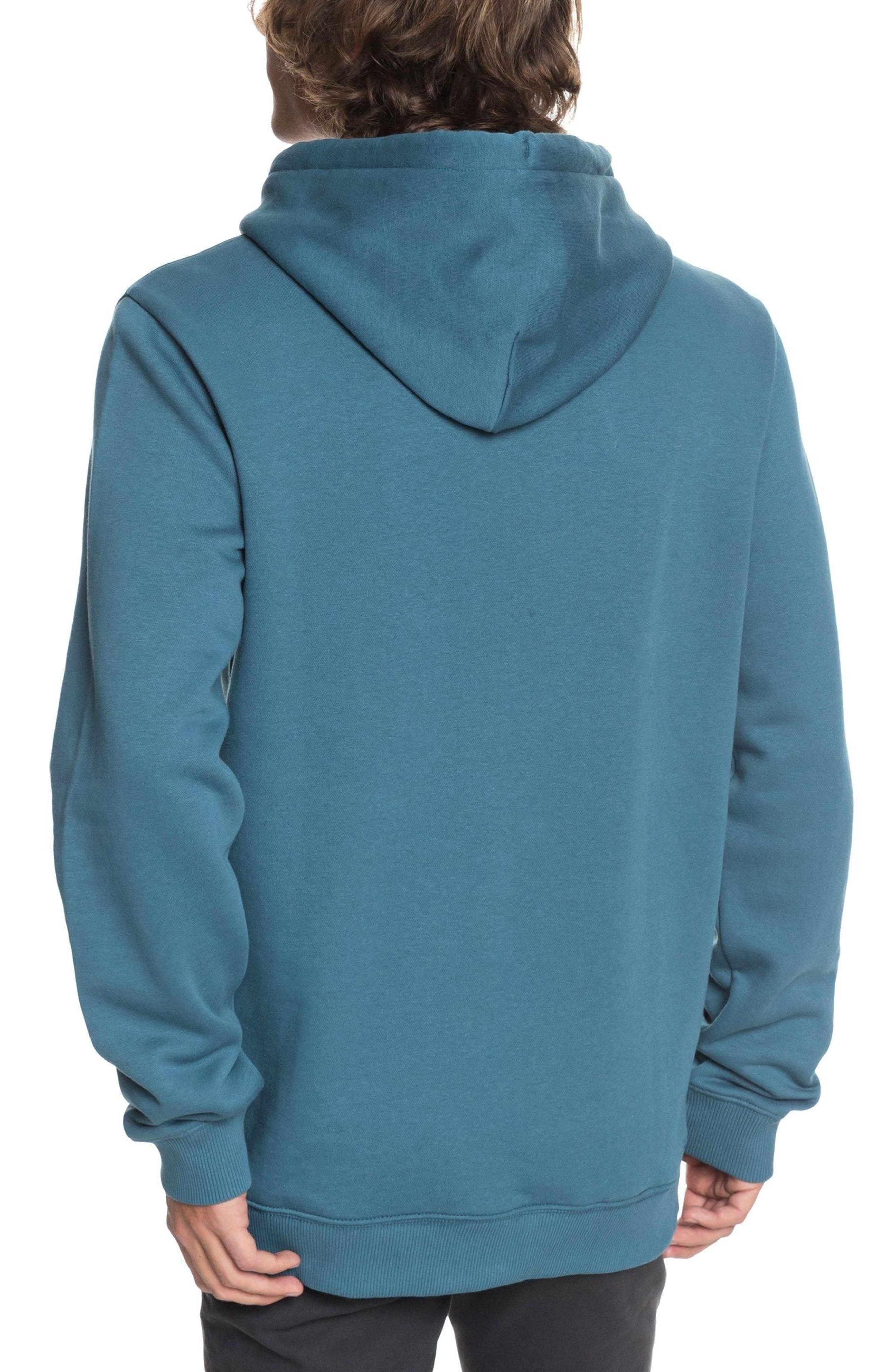 Twin Fin Mates Hoodie,                             Alternate thumbnail 2, color,                             Real Teal