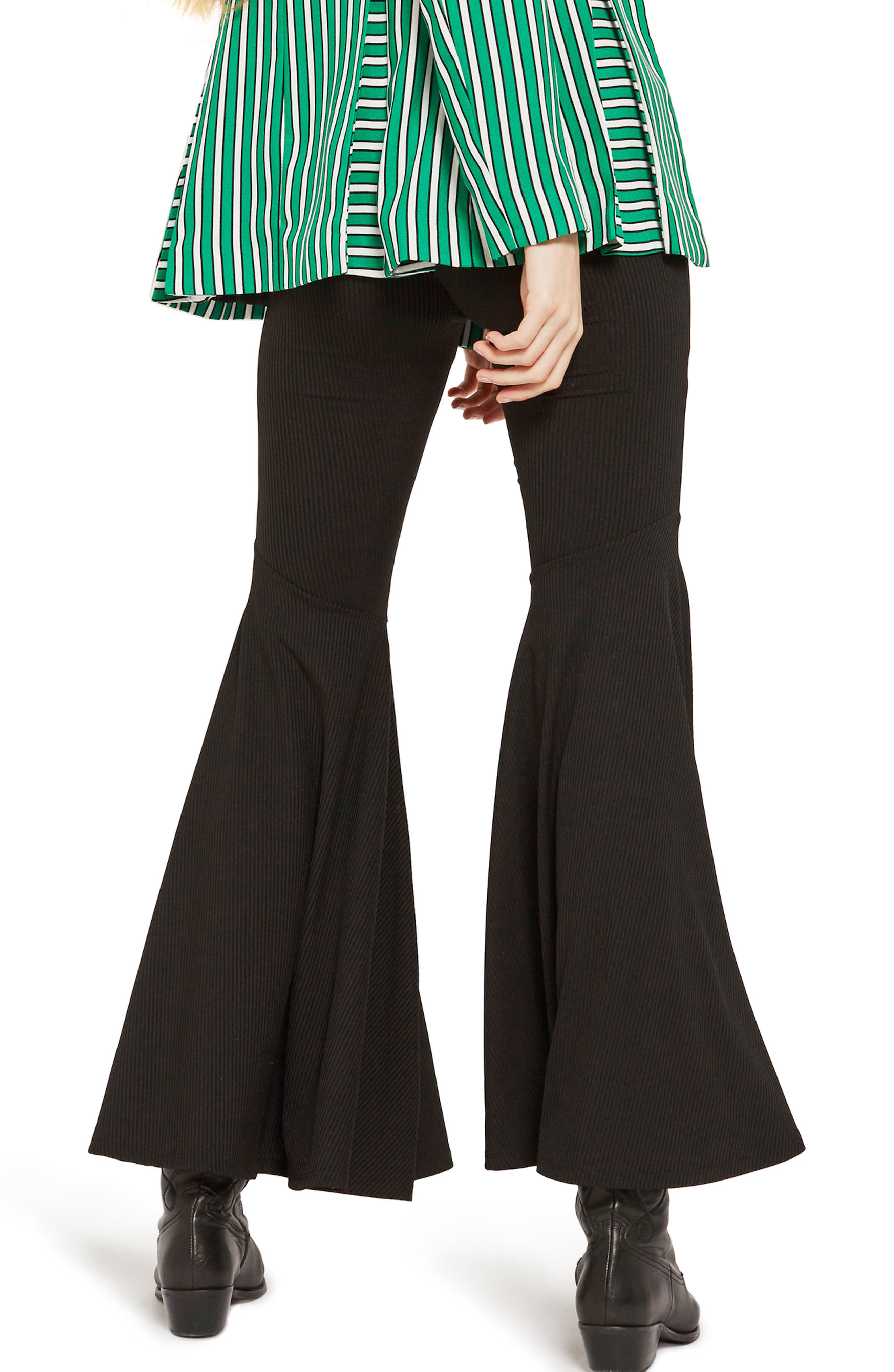 Alternate Image 2  - Topshop Extreme Flare Trousers