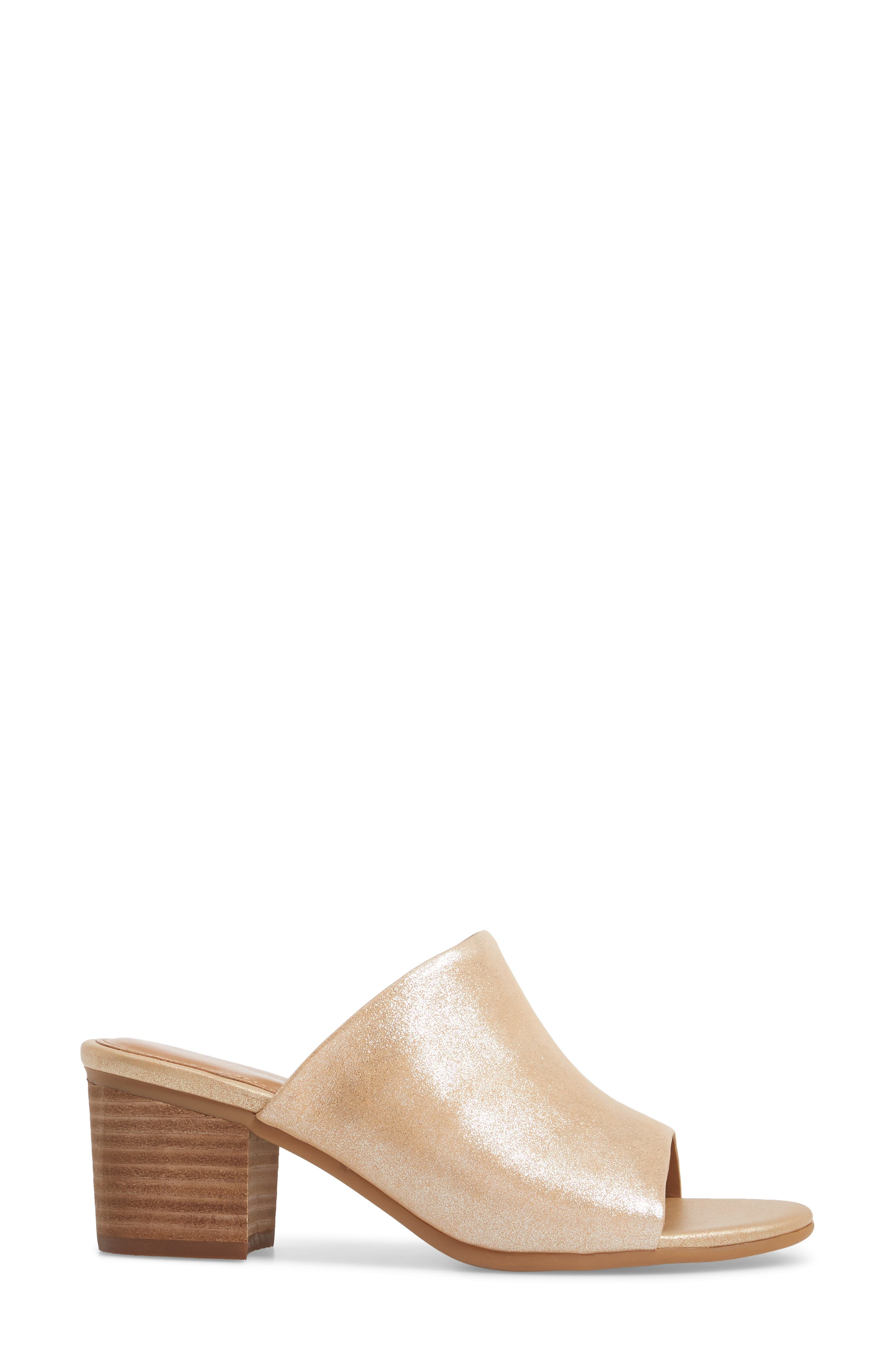 Anabella Sandal,                             Alternate thumbnail 3, color,                             Natural Leather