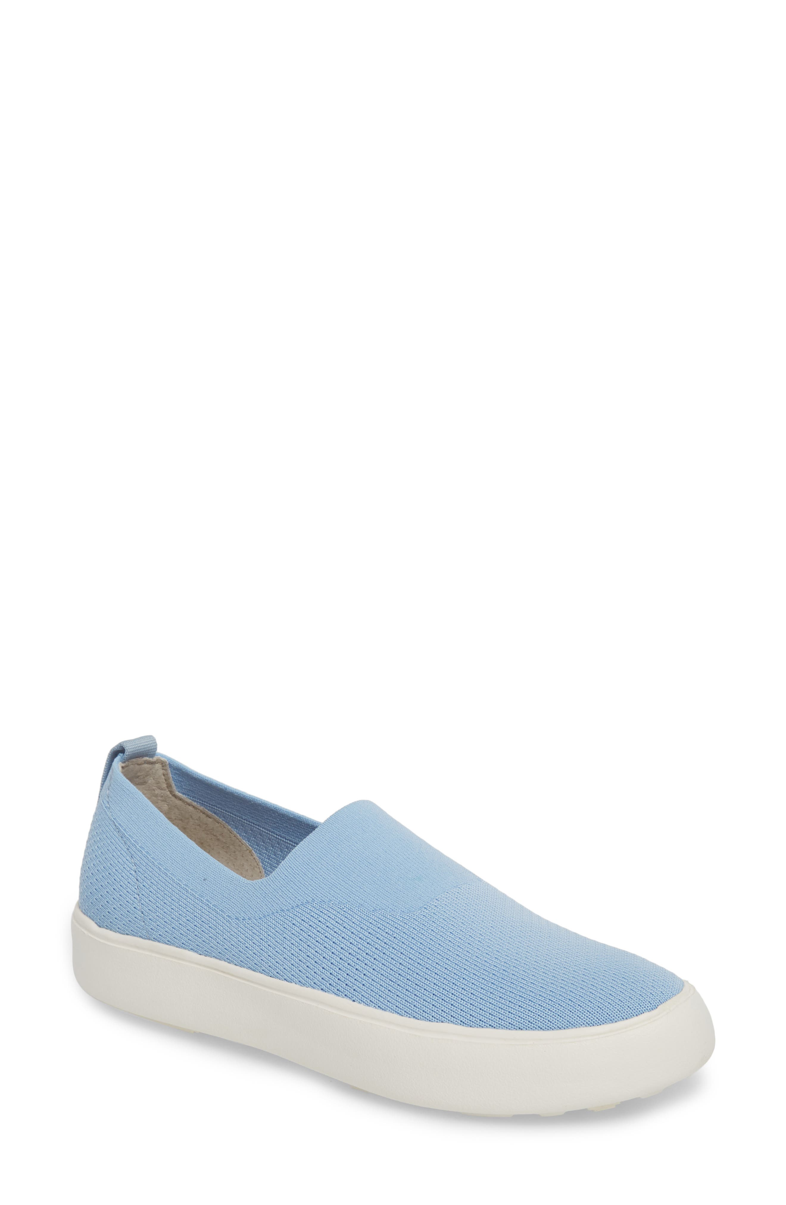 Hula Slip-On Sneaker,                         Main,                         color, Fog Blue