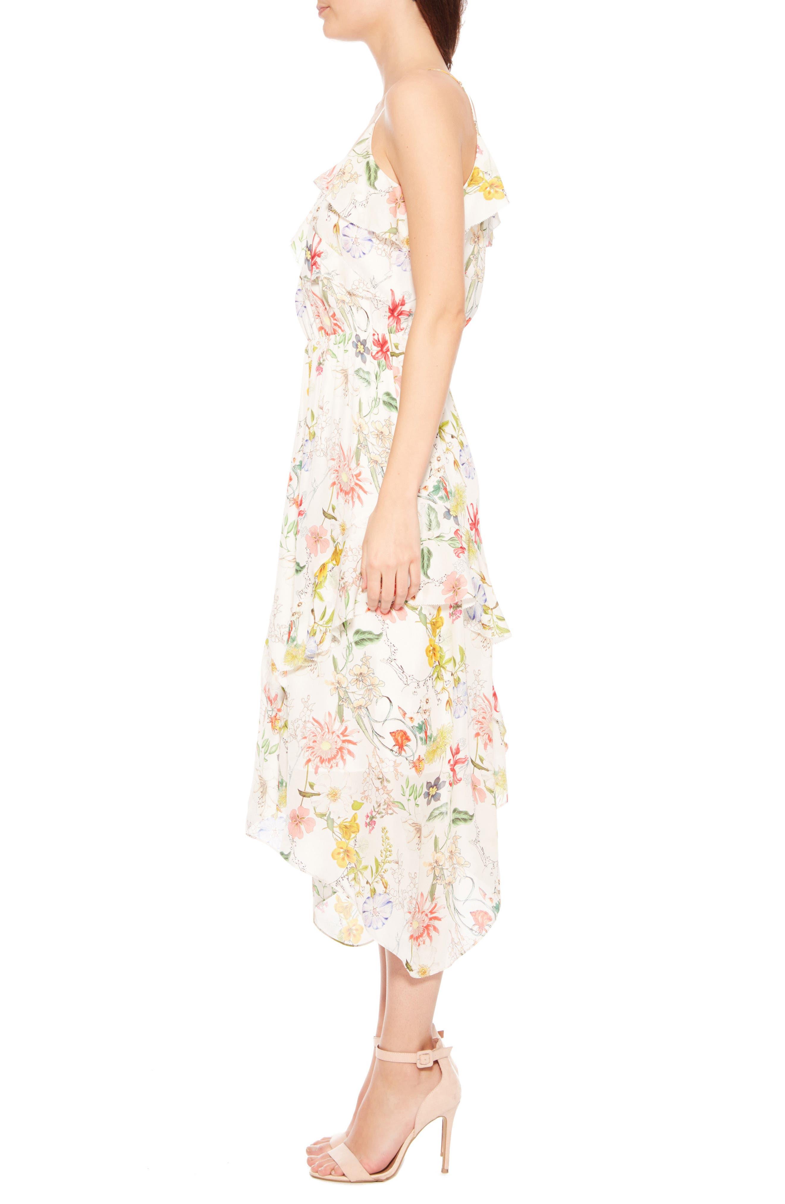 Vanna Dress,                             Alternate thumbnail 3, color,                             Sangria