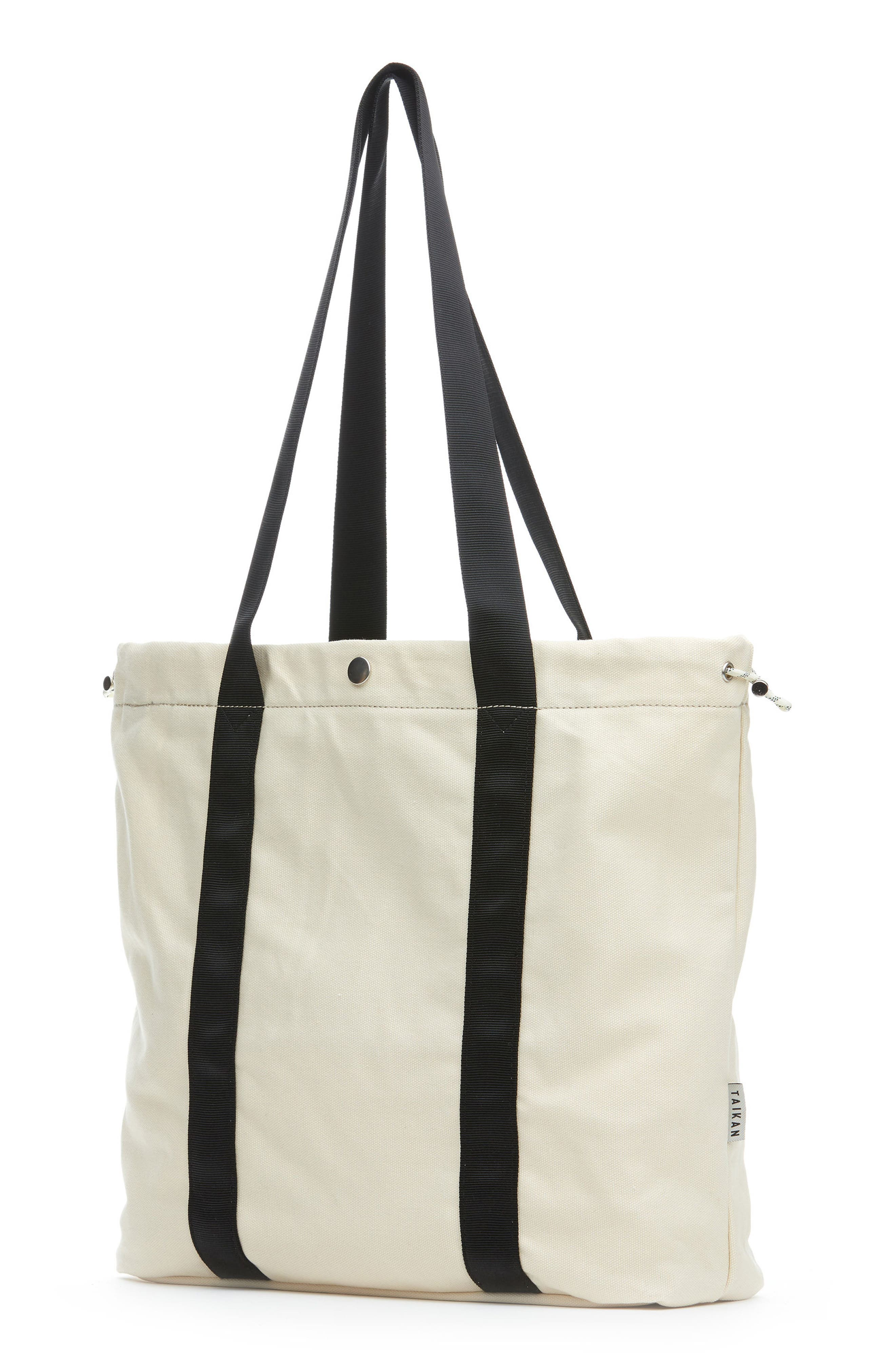 Flanker Tote Bag,                             Alternate thumbnail 2, color,                             Natural Cotton