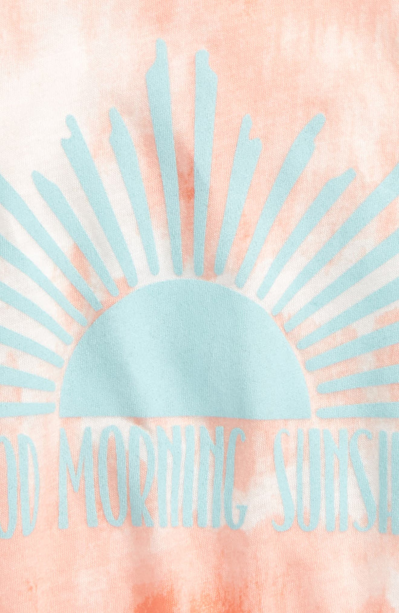 Ocean Breeze Tank,                             Alternate thumbnail 2, color,                             Sunkissed Coral
