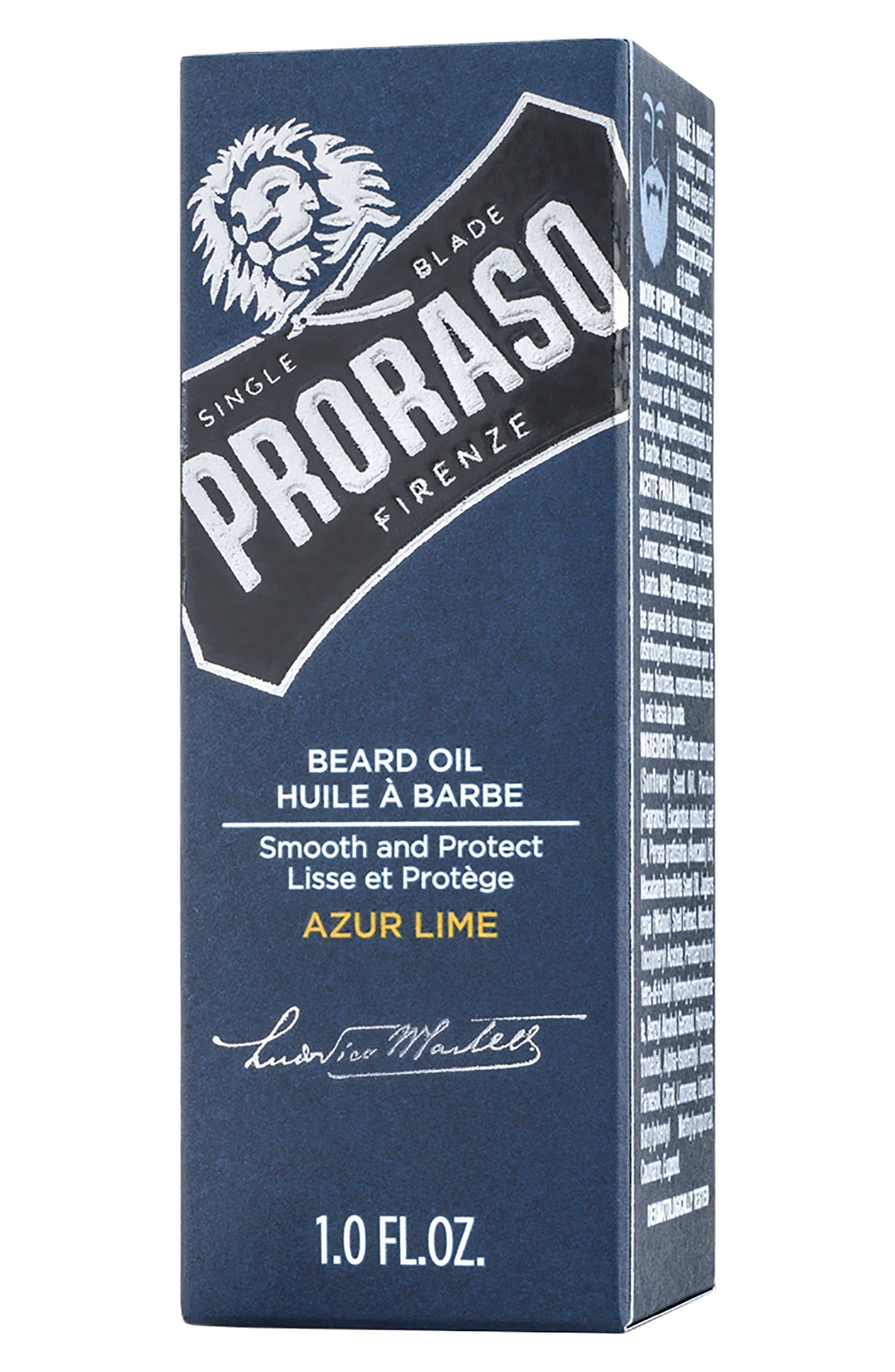Alternate Image 3  - Proraso Men's Grooming Azure Lime Beard Oil