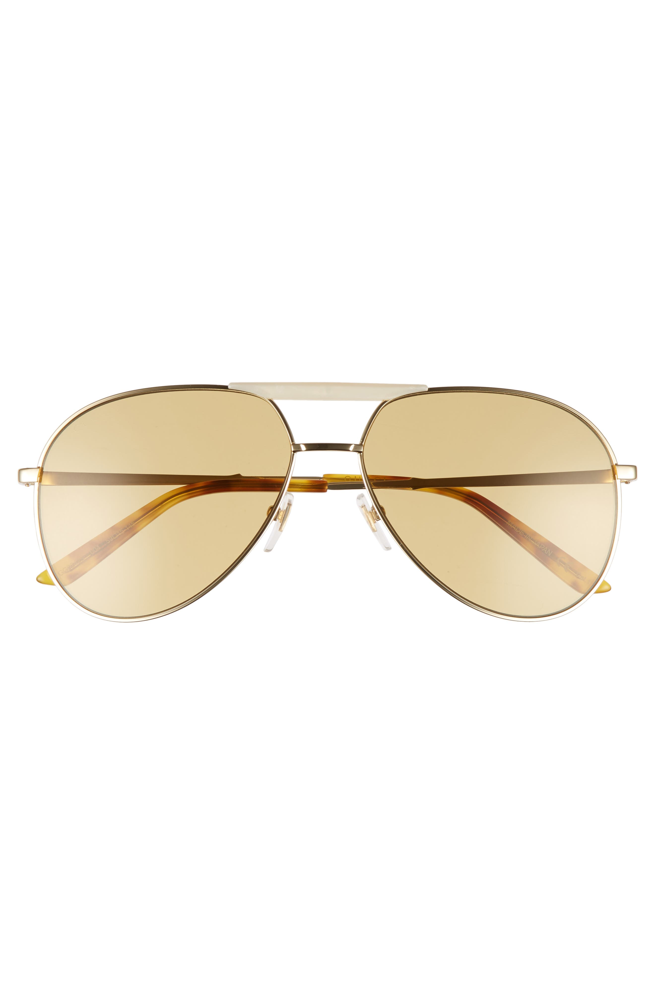 Alternate Image 2  - Gucci Cruise 59mm Aviator Sunglasses