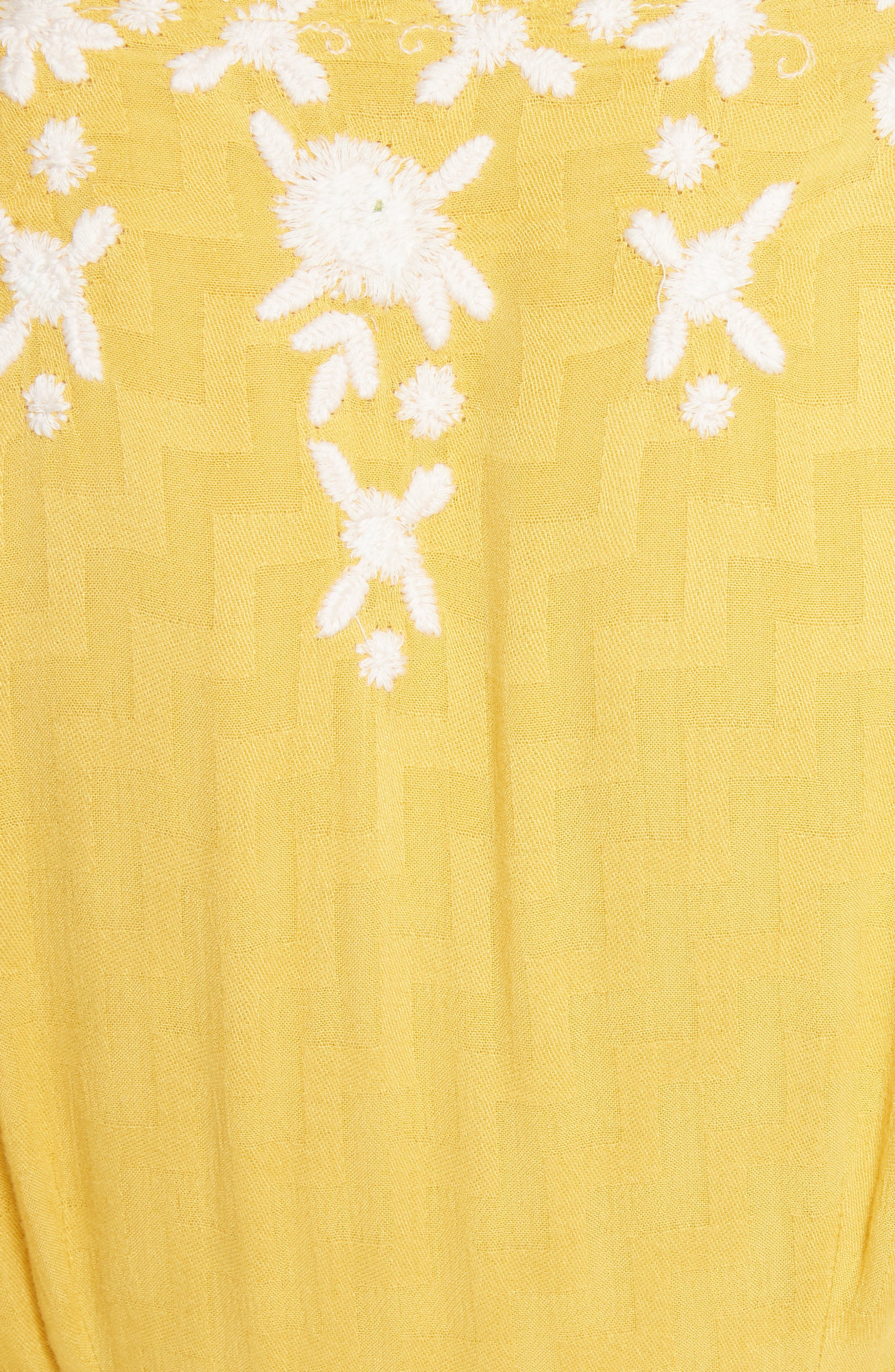 Love to Love You Dress,                             Alternate thumbnail 5, color,                             Yellow