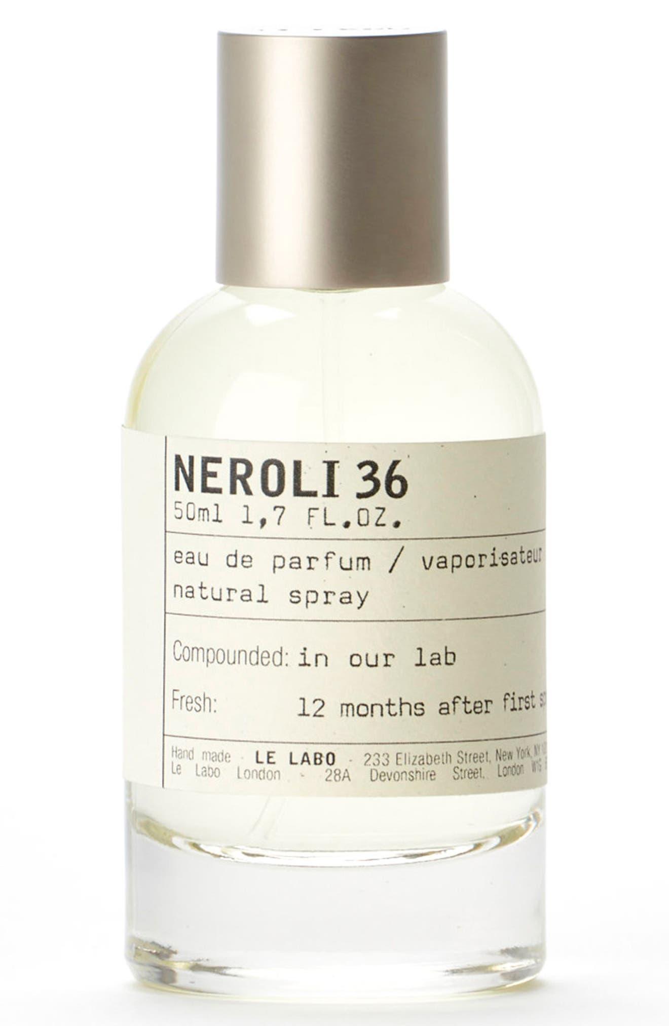 'Neroli 36' Eau de Parfum,                             Alternate thumbnail 2, color,                             No Color