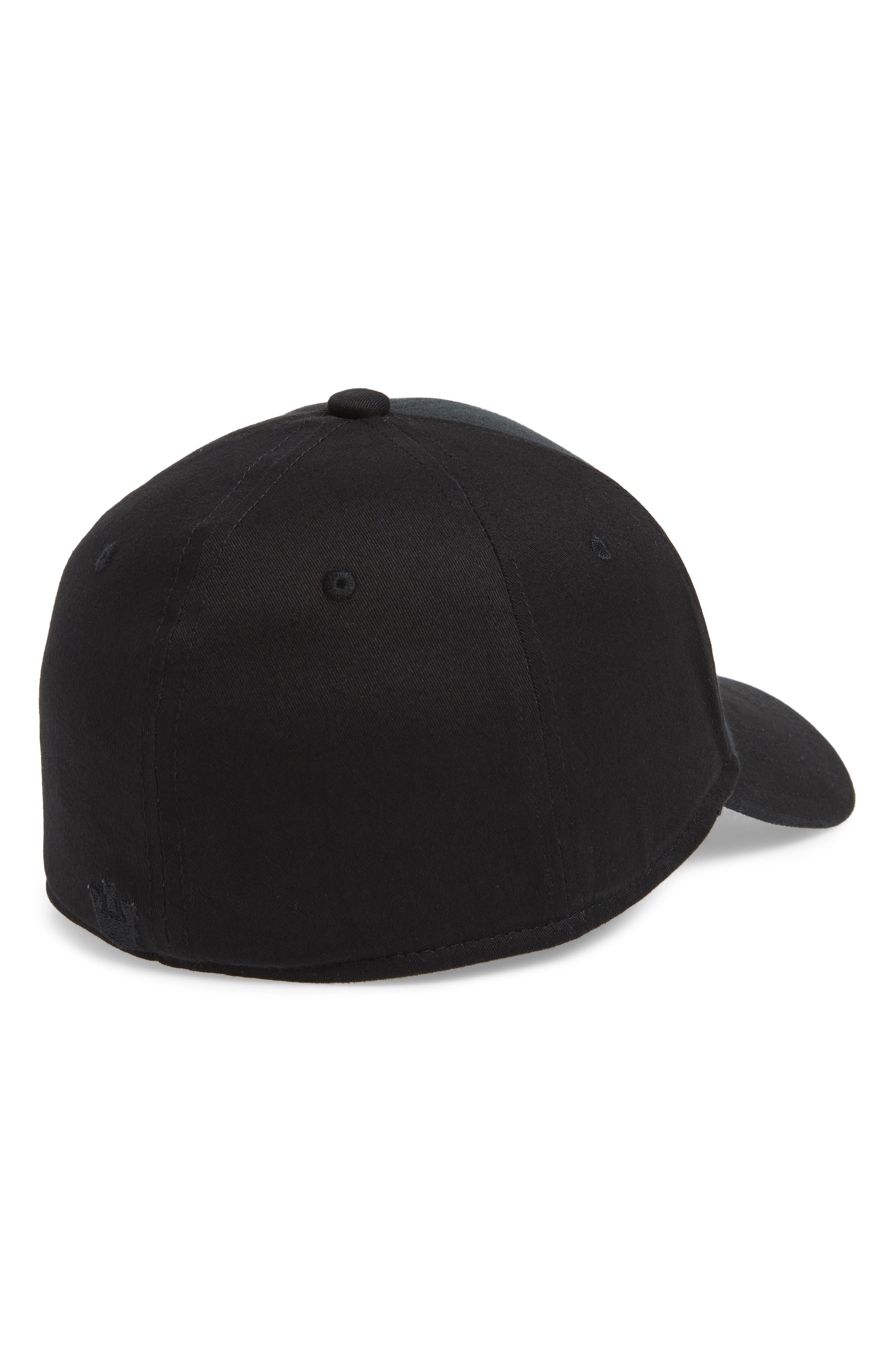 For the Win Baseball Cap,                             Alternate thumbnail 2, color,                             Black