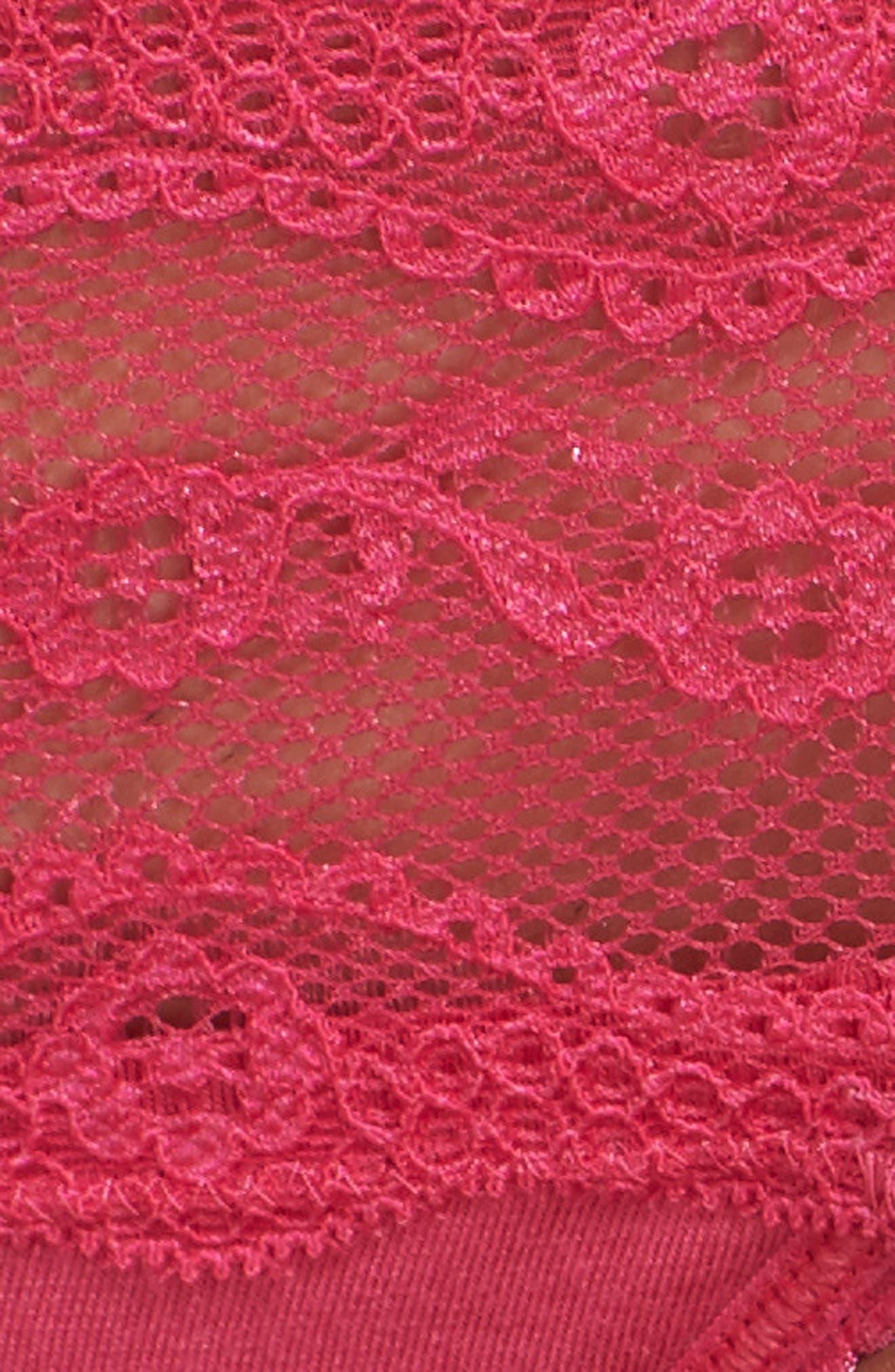 B. Adorable Bikini,                             Alternate thumbnail 9, color,                             Pink Peacock