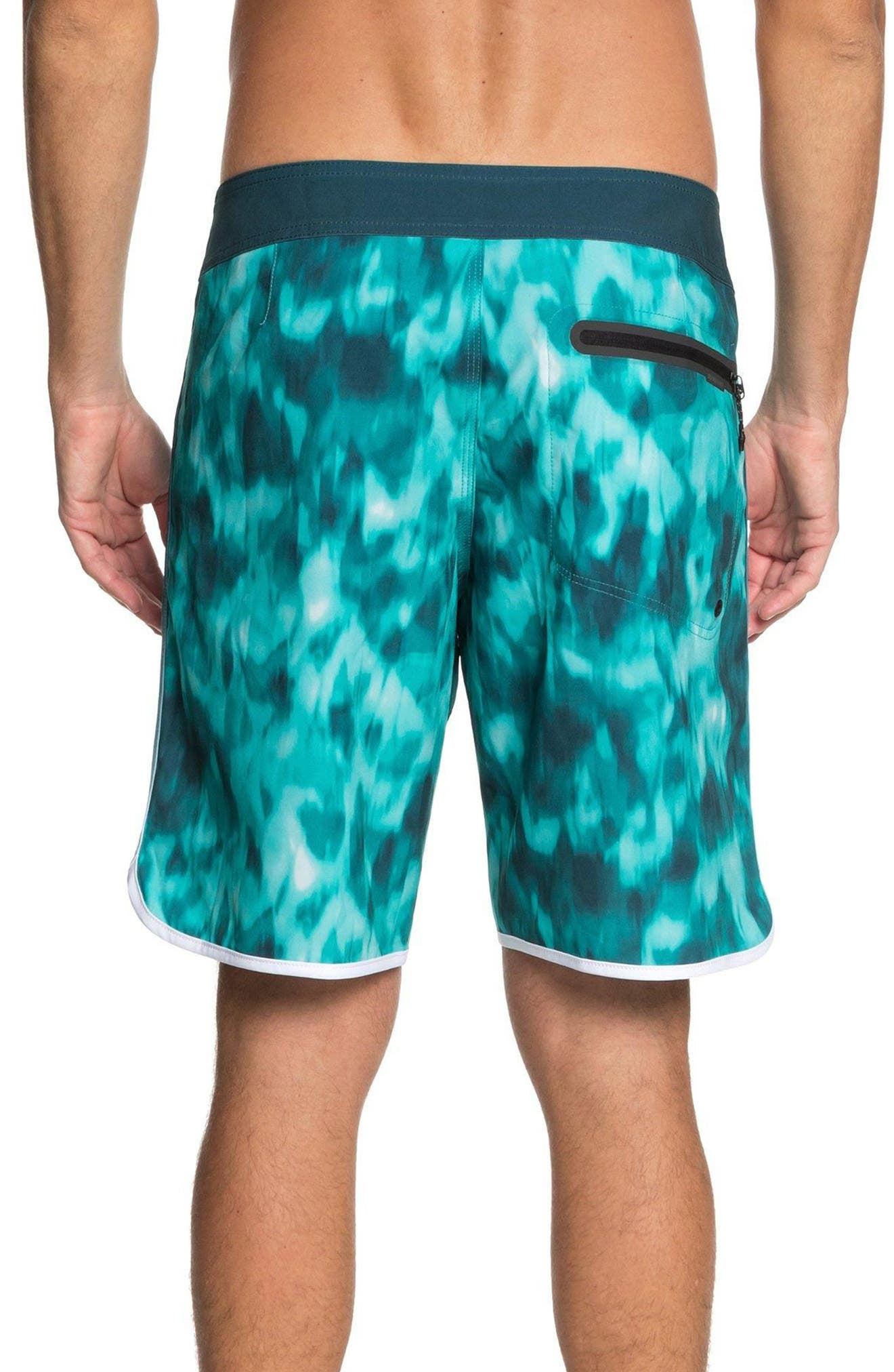 Highline Recon Board Shorts,                             Alternate thumbnail 2, color,                             Atlantic Deep