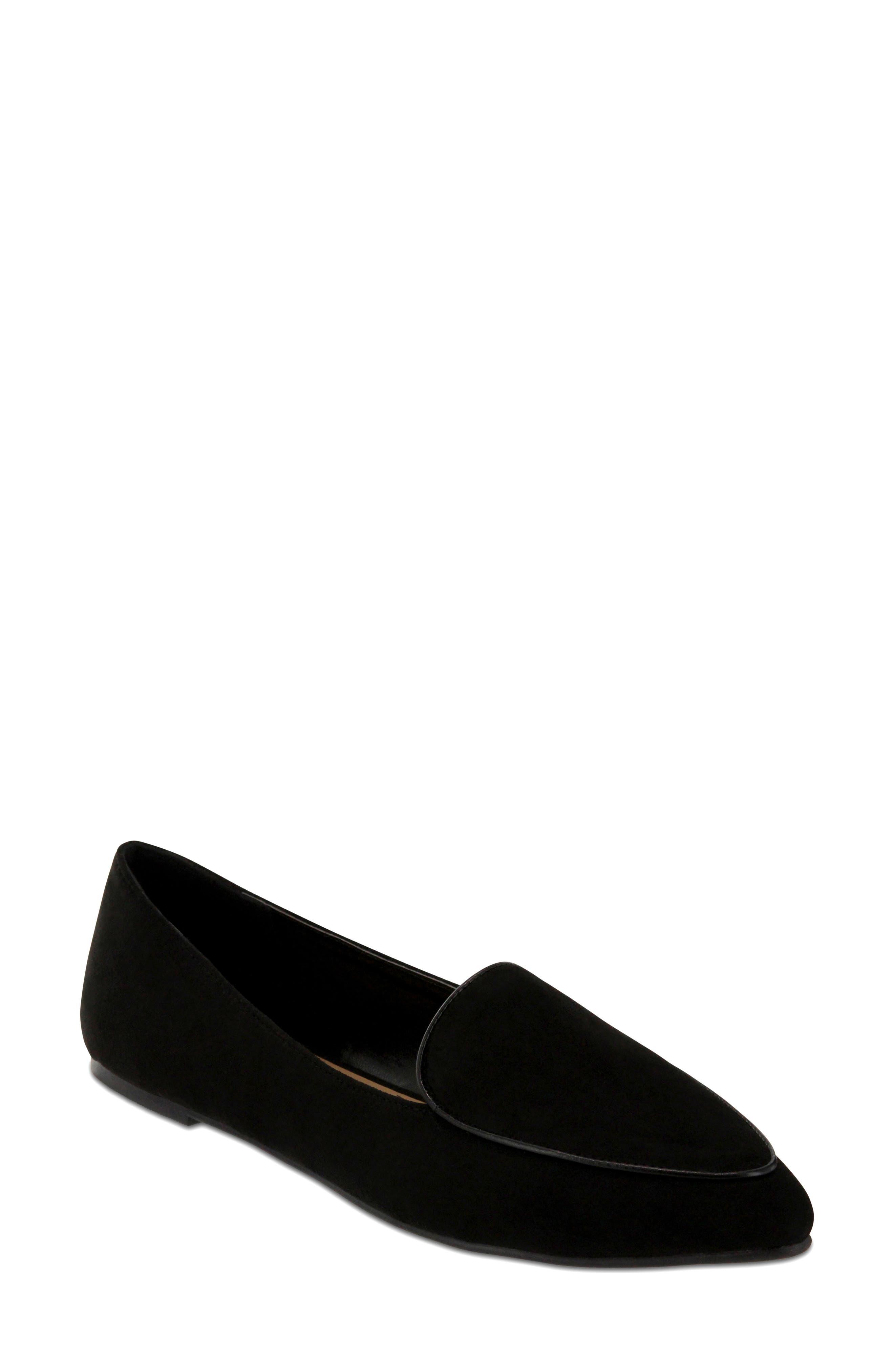 Niles Loafer,                             Main thumbnail 1, color,                             Black