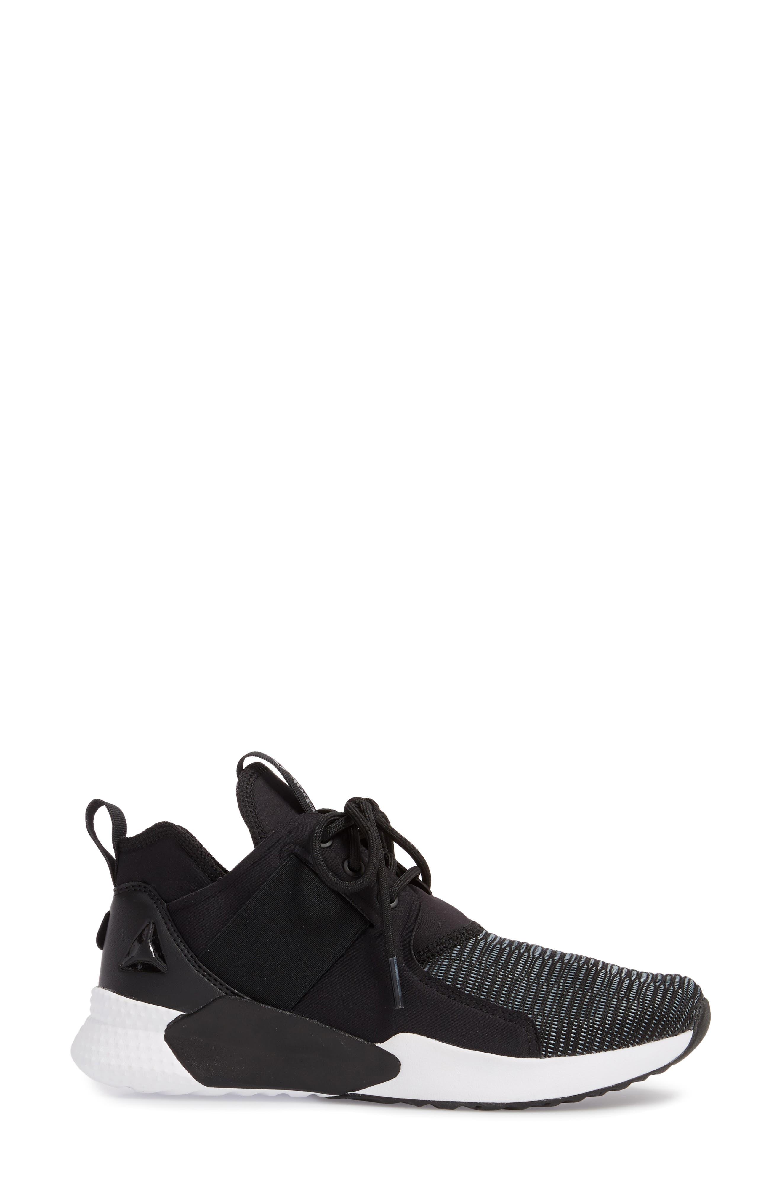 Guresu 1.0 High Top Sneaker,                             Alternate thumbnail 3, color,                             Black/ White