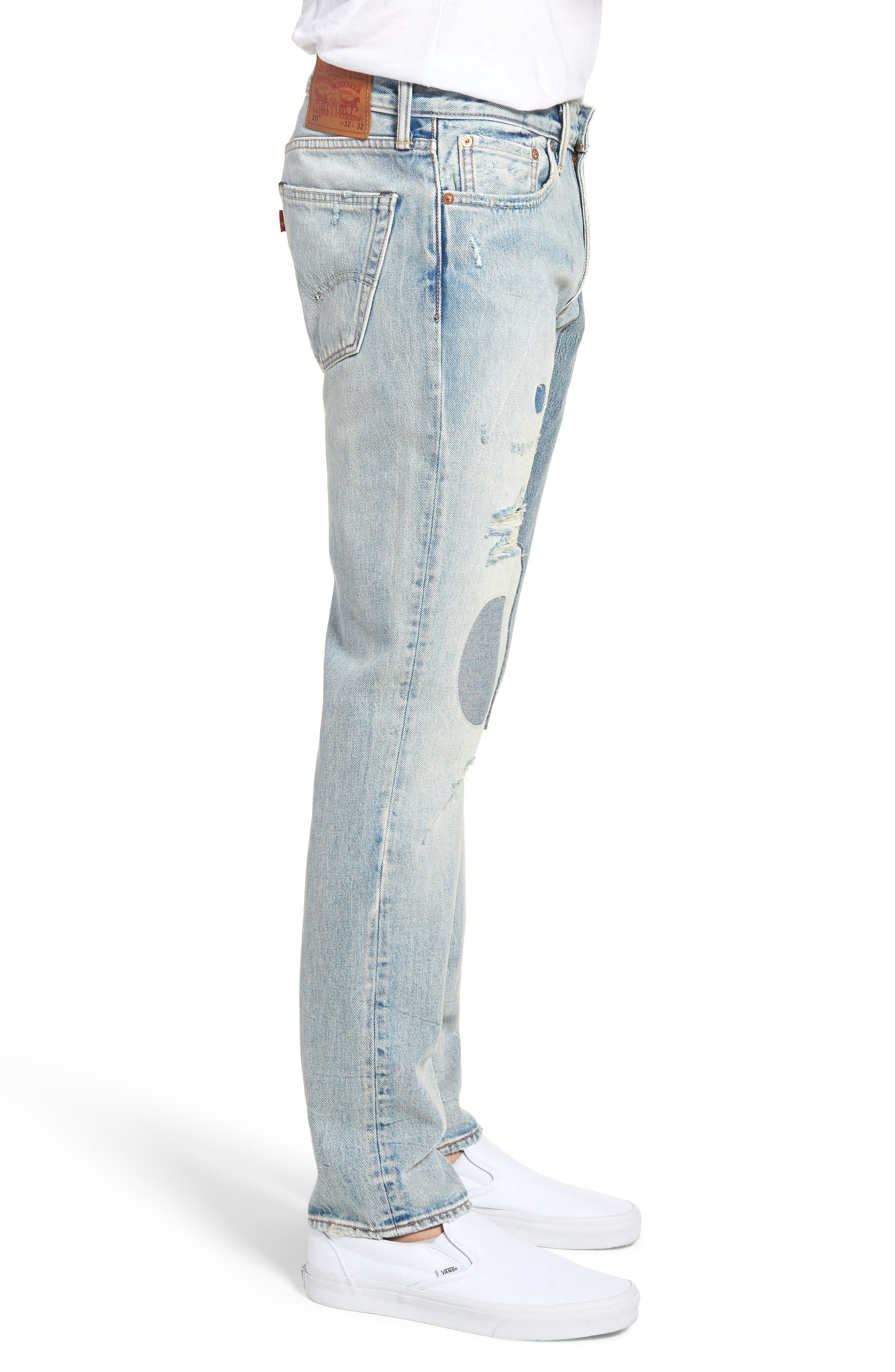 511<sup>™</sup> Slim Fit Jeans,                             Alternate thumbnail 3, color,                             Patch Up