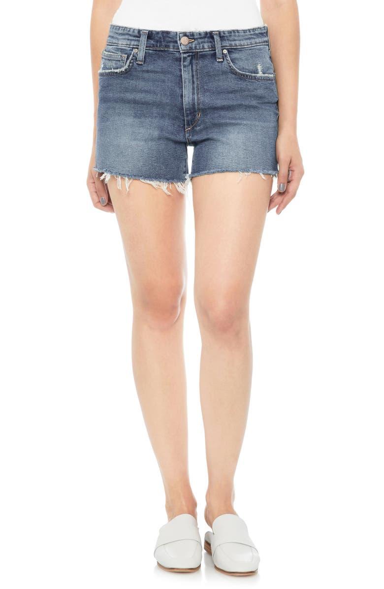 Lover Distressed Baggy Denim Shorts