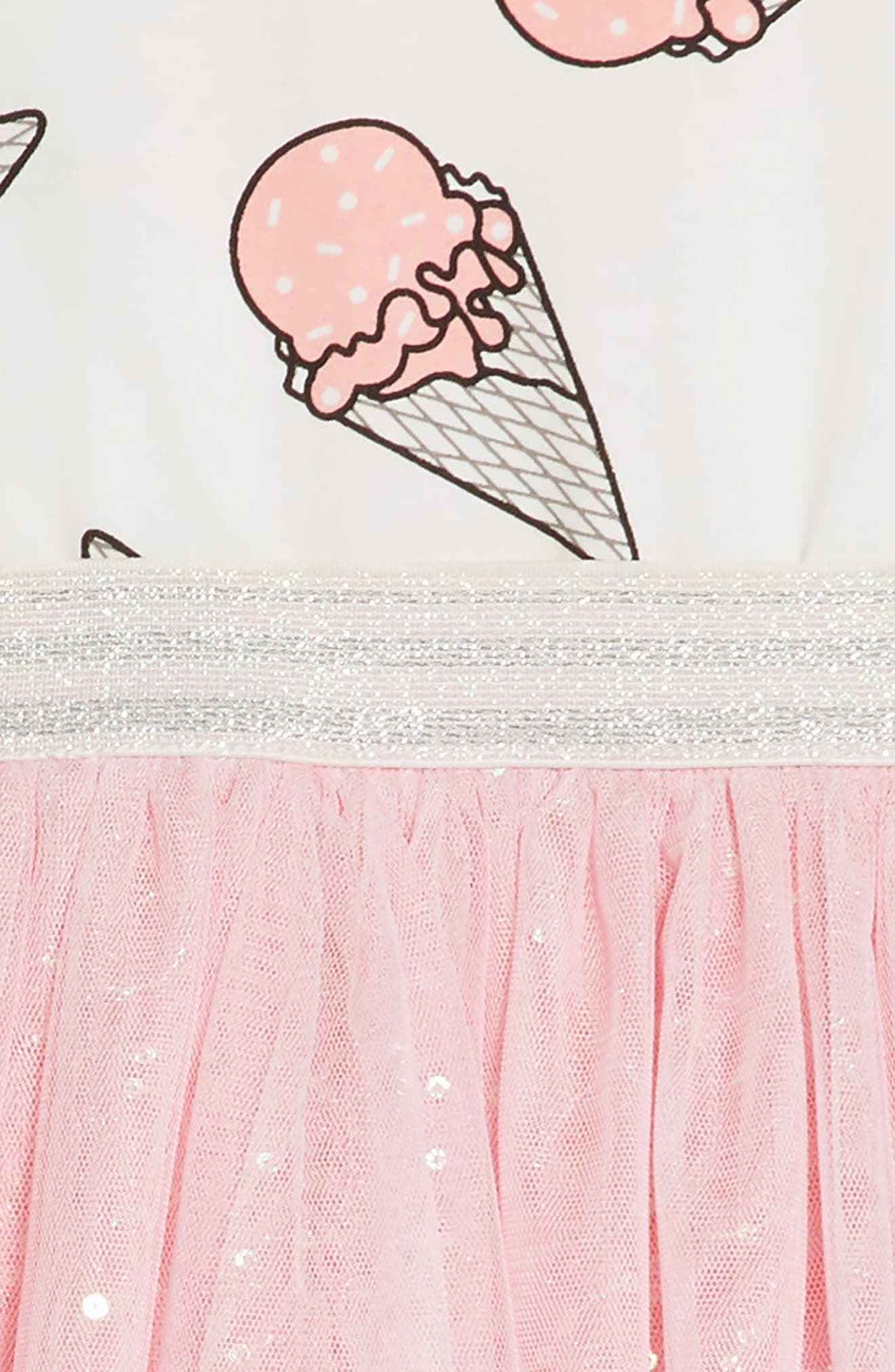 Alternate Image 3  - Truly Me Ice Cream Print Dress (Toddler Girls & Little Girls)